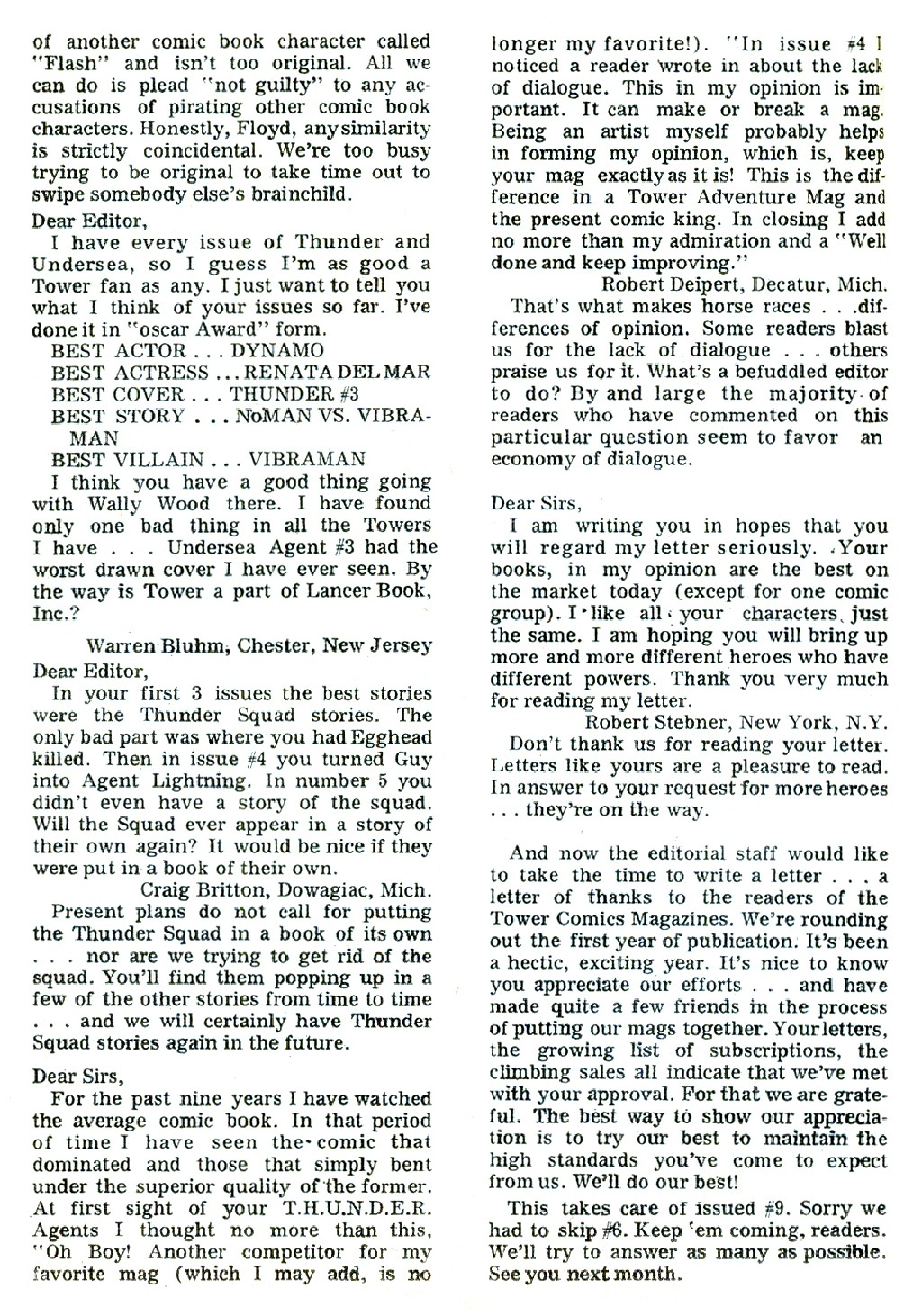 T.H.U.N.D.E.R. Agents (1965) issue 9 - Page 40