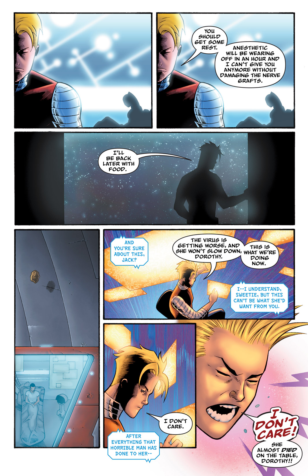 Read online The Many Adventures of Miranda Mercury: Time Runs Out comic -  Issue # TPB - 113