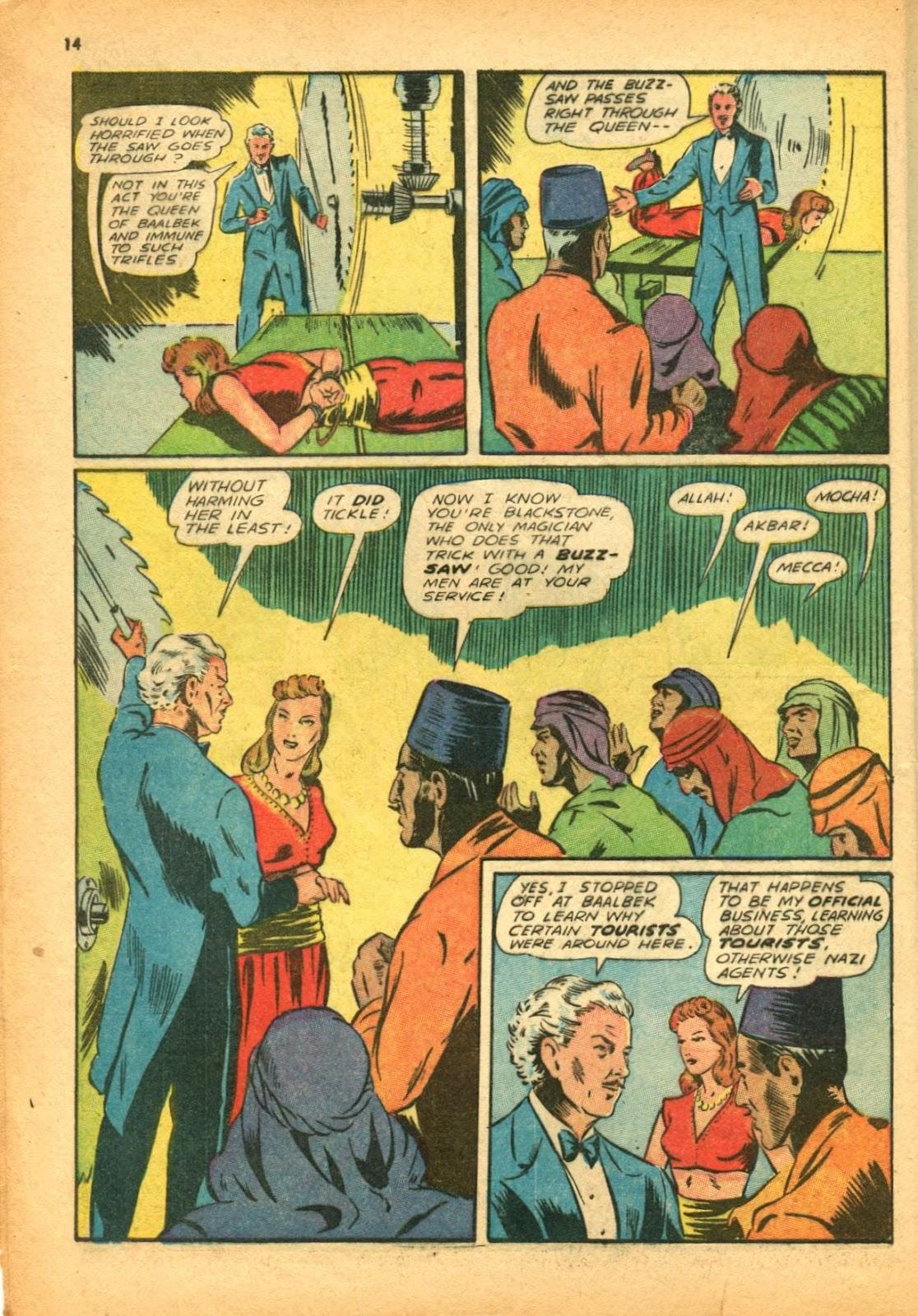 Read online Super-Magician Comics comic -  Issue #12 - 14