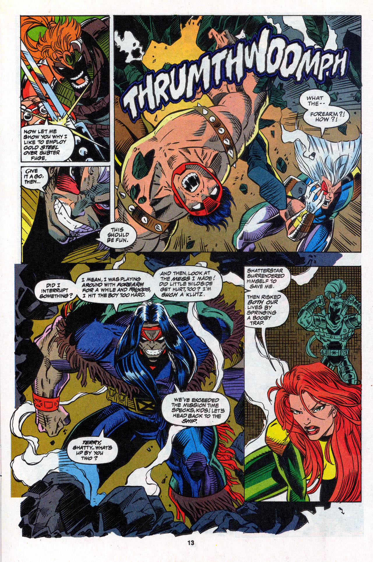 Read online X-Force (1991) comic -  Issue #28 - 14