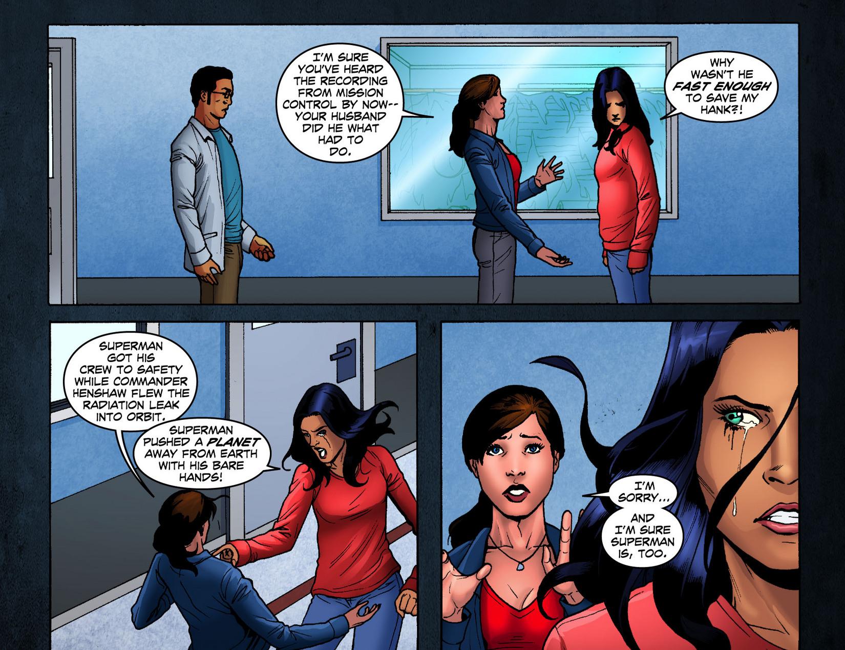Read online Smallville: Season 11 comic -  Issue #7 - 14