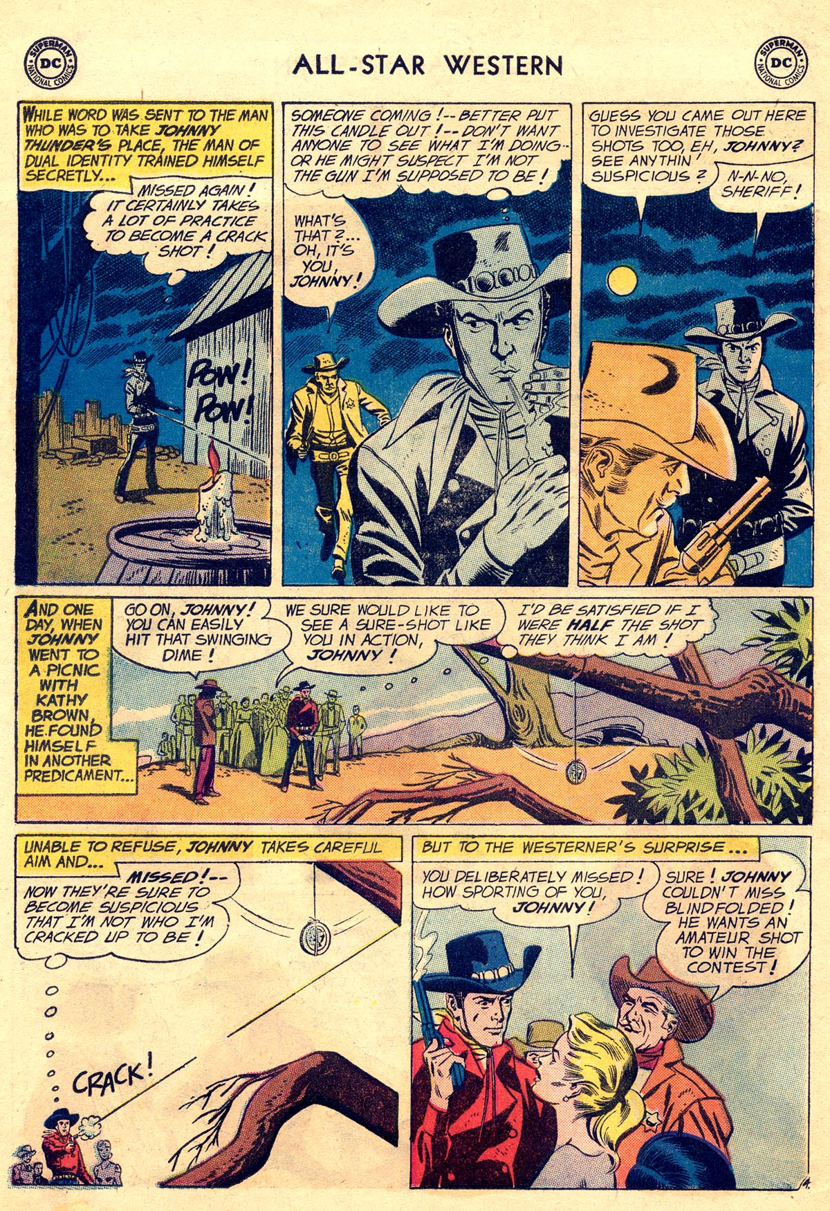 Read online All-Star Western (1951) comic -  Issue #109 - 6