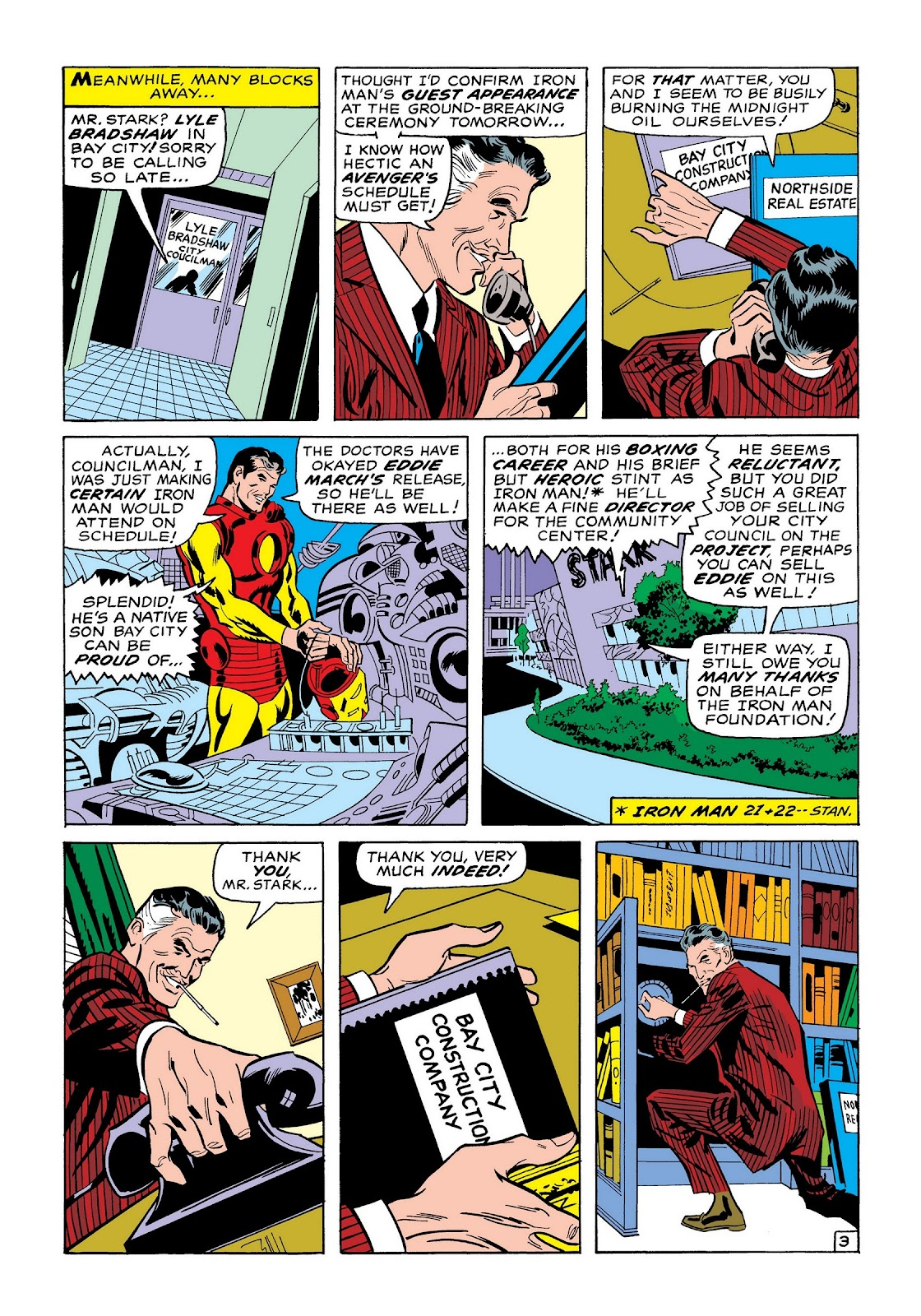 Read online Marvel Masterworks: The Invincible Iron Man comic -  Issue # TPB 7 (Part 1) - 32