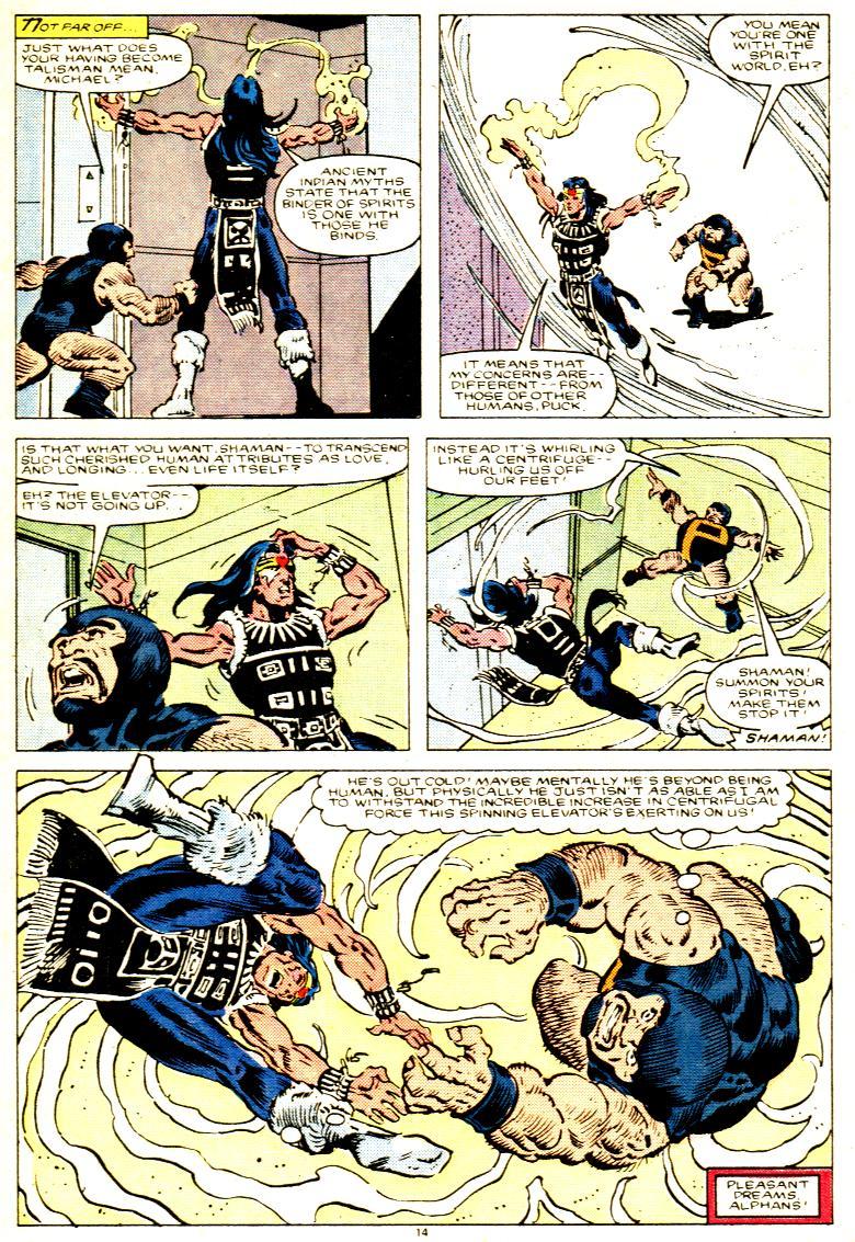 Read online Alpha Flight (1983) comic -  Issue # _Annual 1 - 15