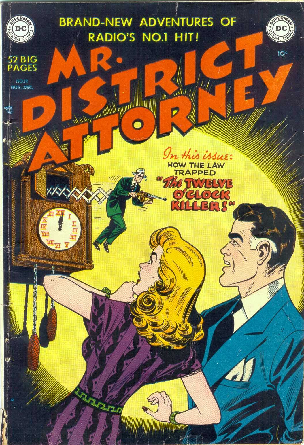 Mr. District Attorney issue 18 - Page 1