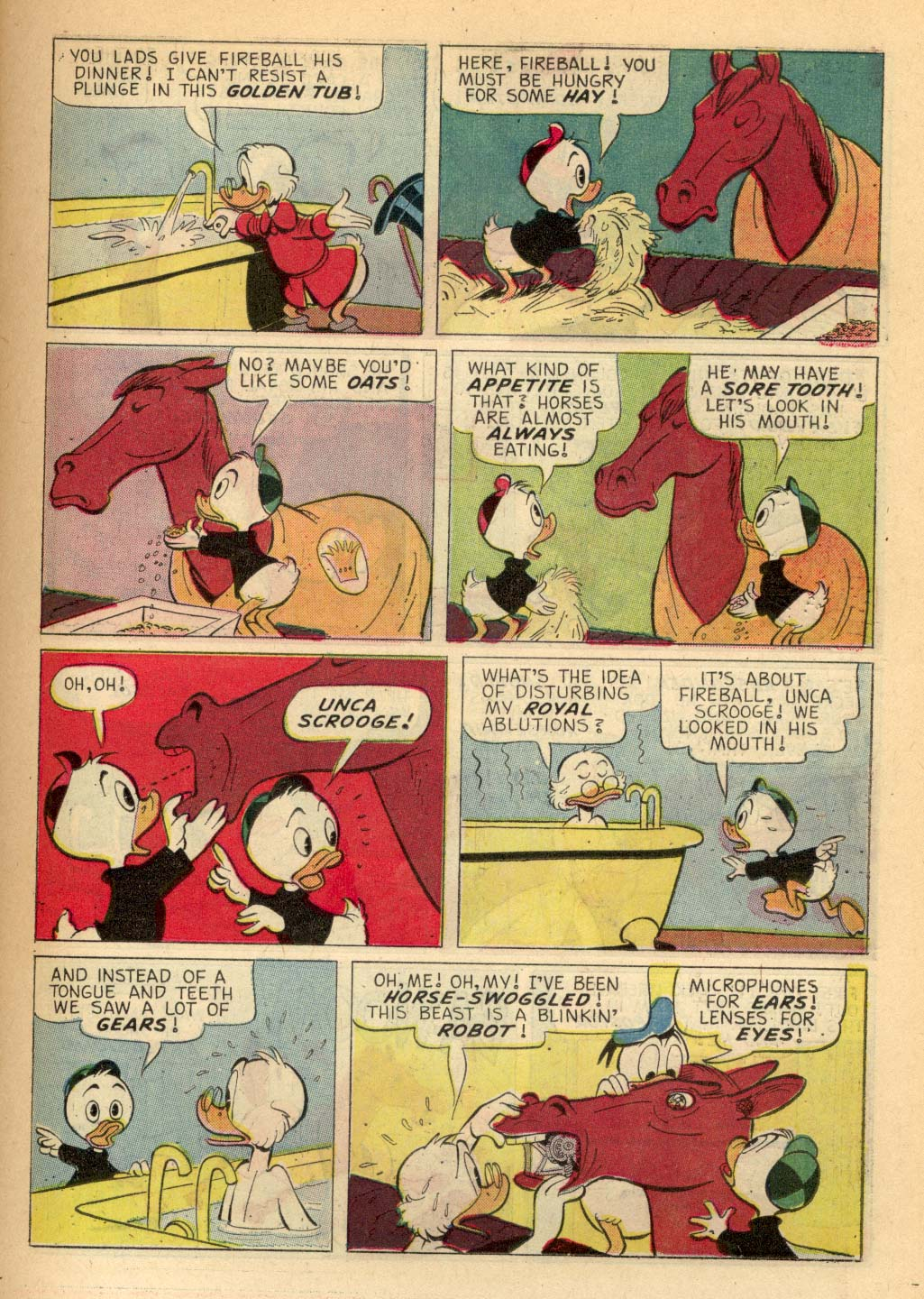 Read online Uncle Scrooge (1953) comic -  Issue #66 - 11