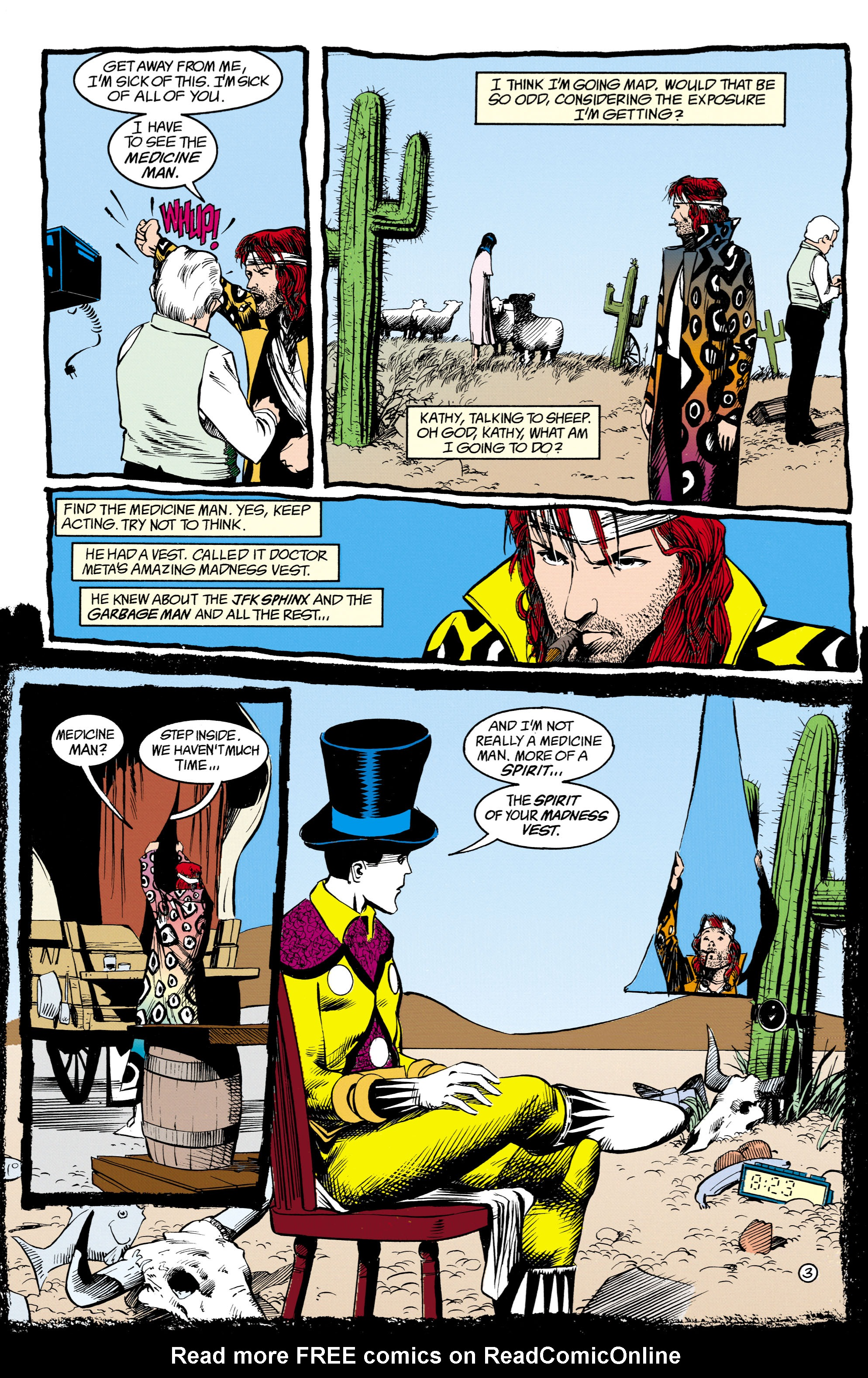 Read online Shade, the Changing Man comic -  Issue #16 - 4