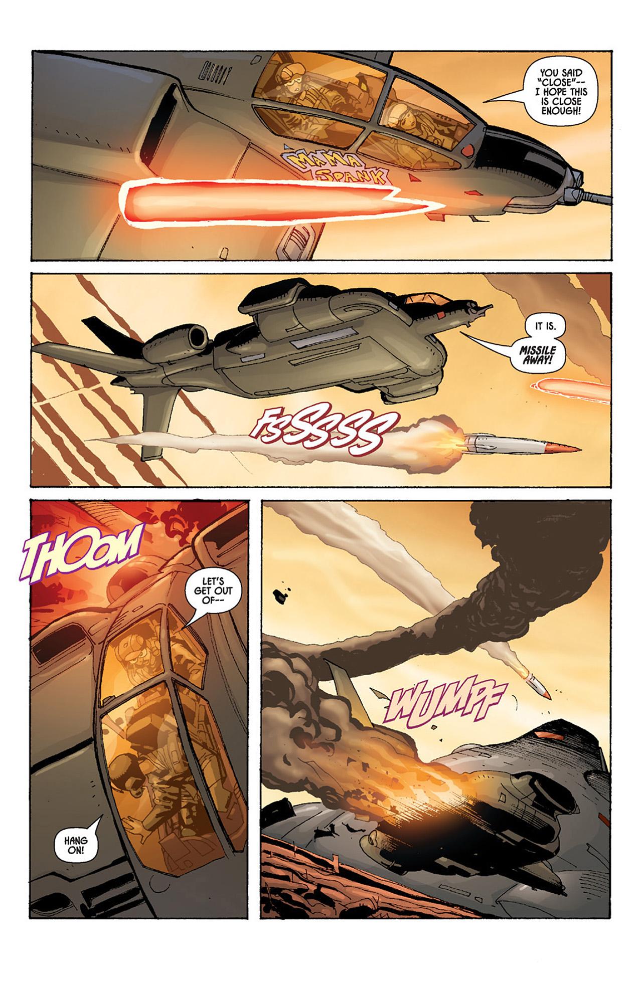 Read online Aliens vs. Predator: Three World War comic -  Issue #4 - 18