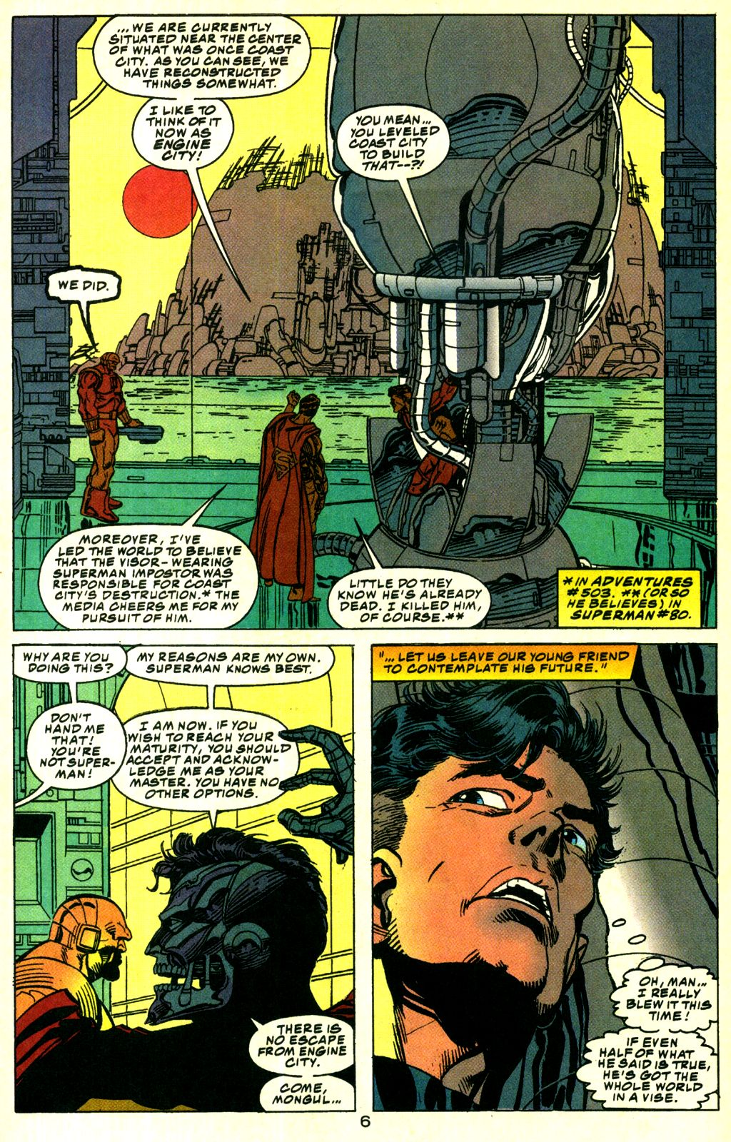 Action Comics (1938) 690 Page 6