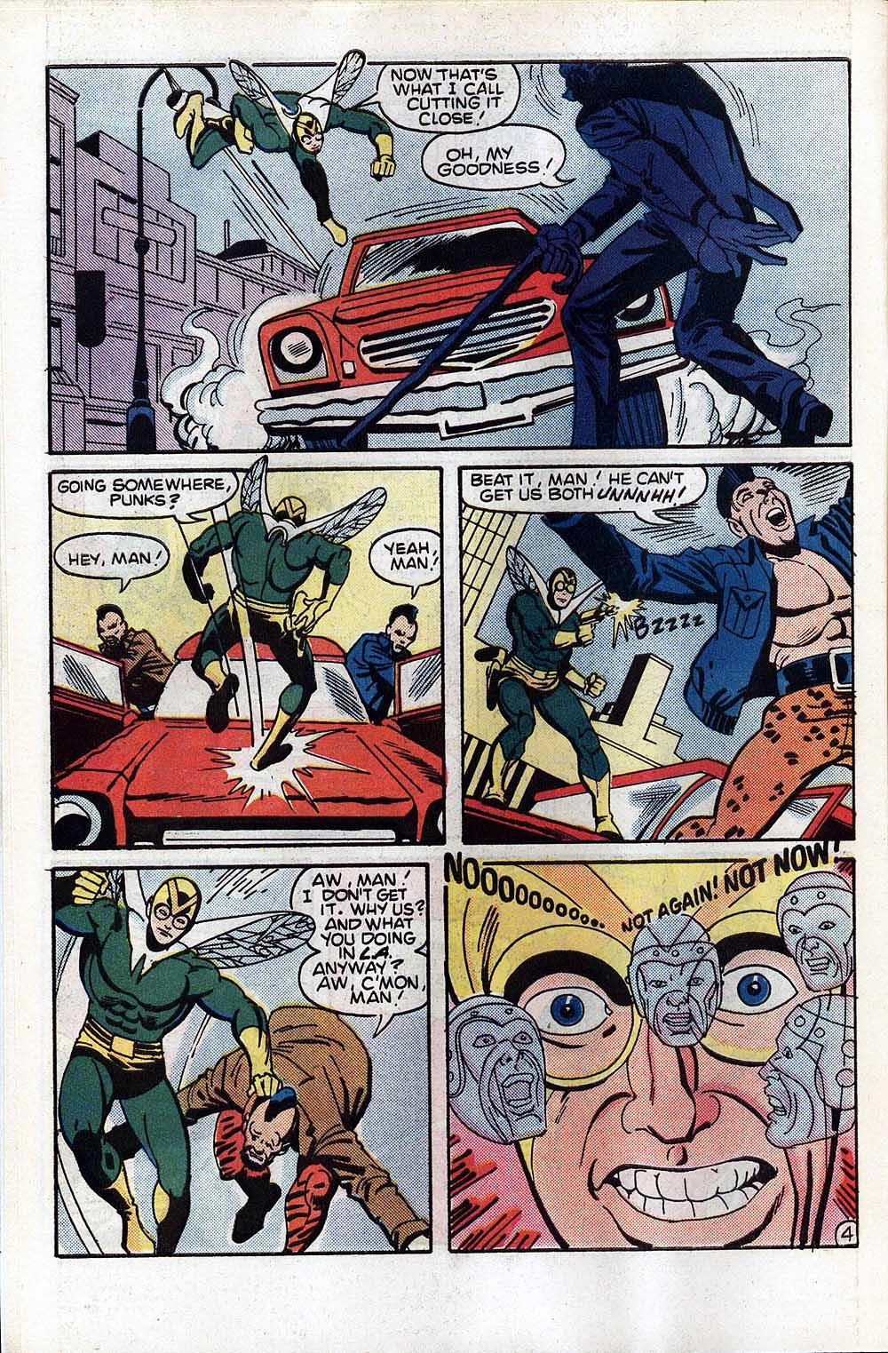 Read online The Fly (1983) comic -  Issue #4 - 6