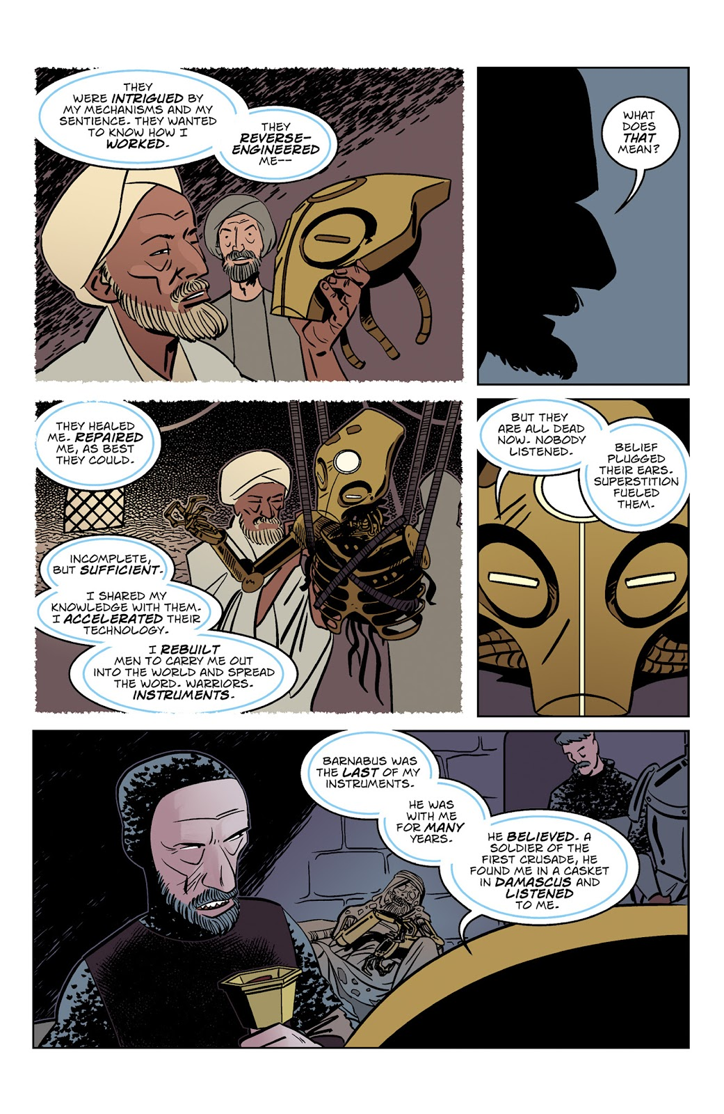 Read online Dark Ages comic -  Issue #3 - 19