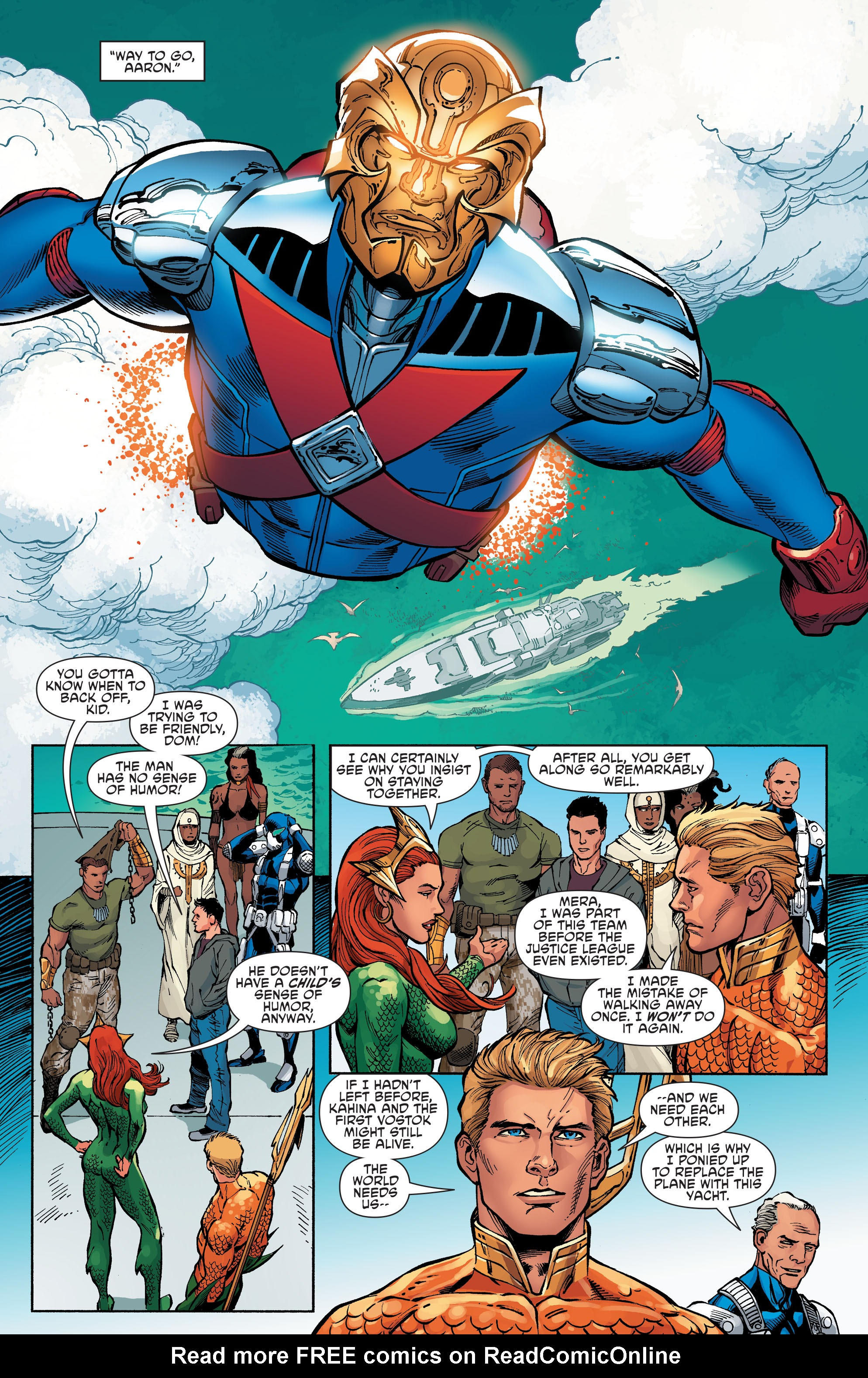 Read online Aquaman and the Others comic -  Issue #6 - 6