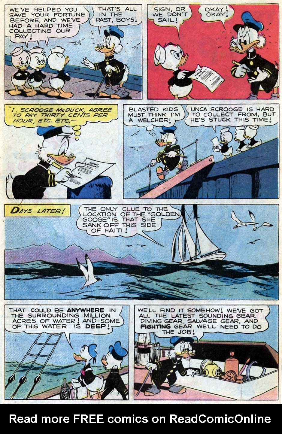 Read online Uncle Scrooge (1953) comic -  Issue #181 - 8