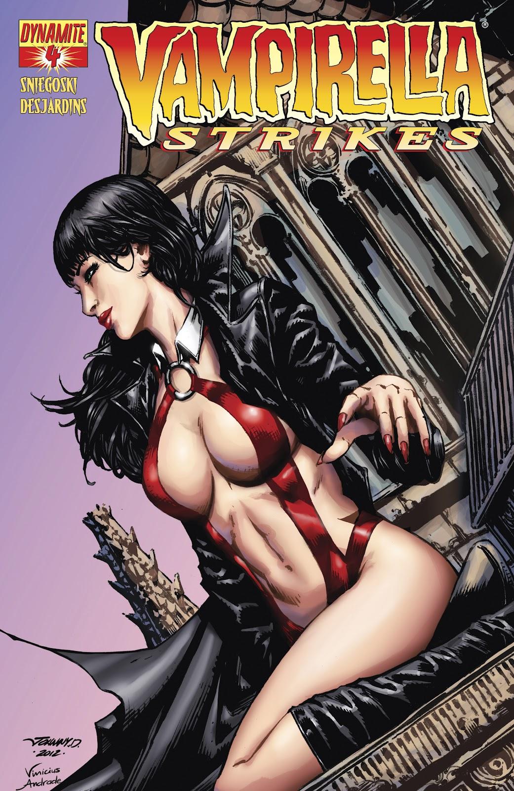 Read online Vampirella Strikes comic -  Issue #4 - 1