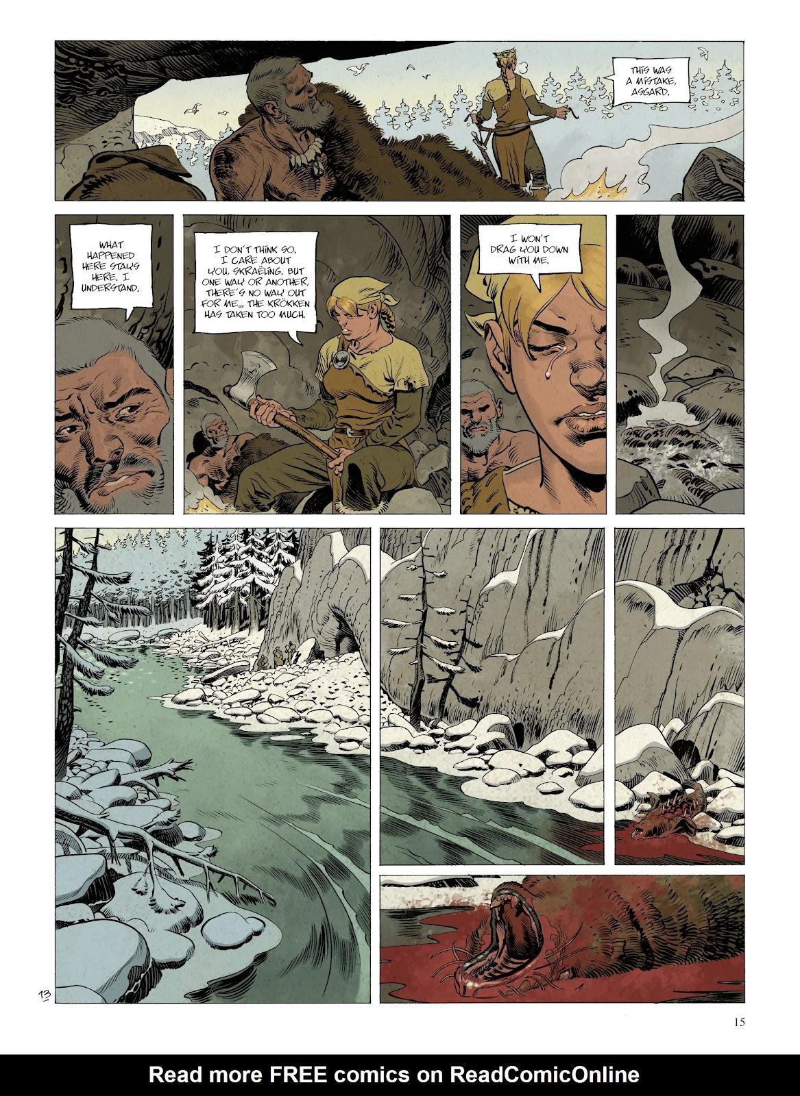 Read online Asgard comic -  Issue #2 - 17