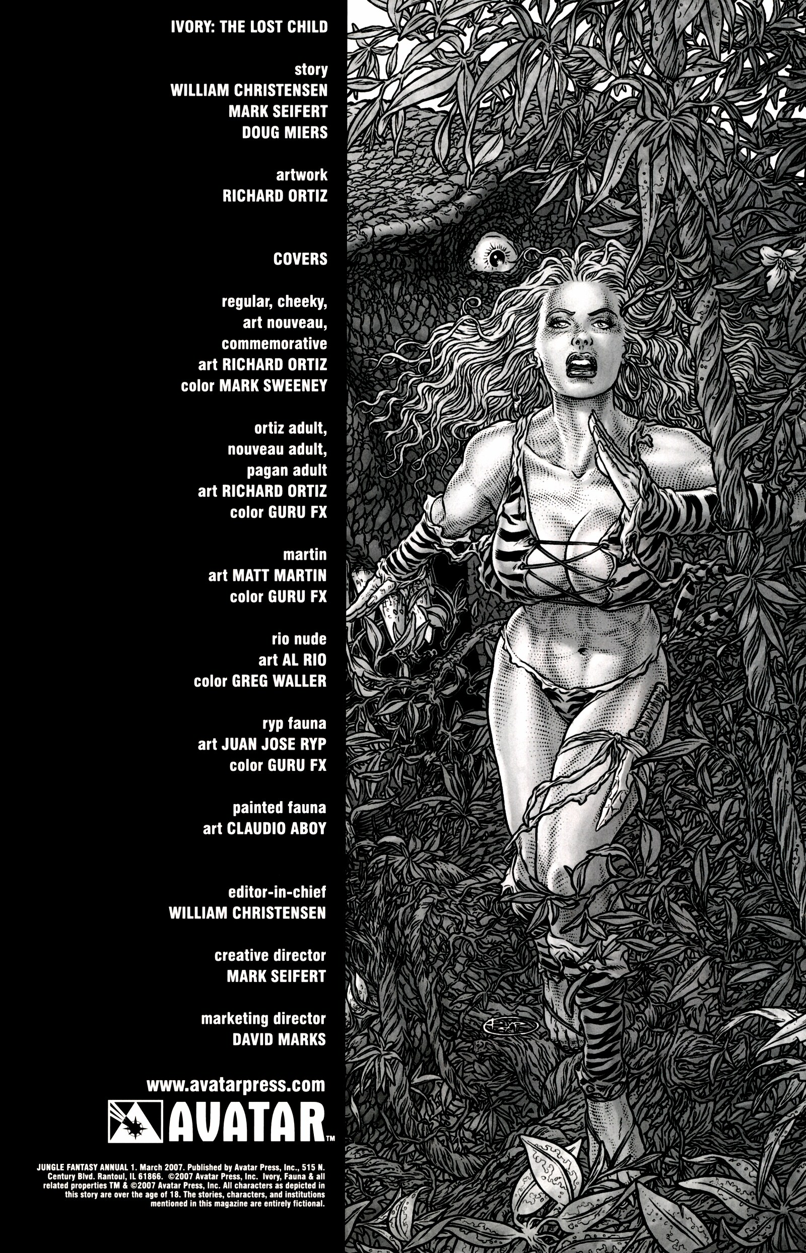 Read online Jungle Fantasy (2002) comic -  Issue # _Annual 1 - 2