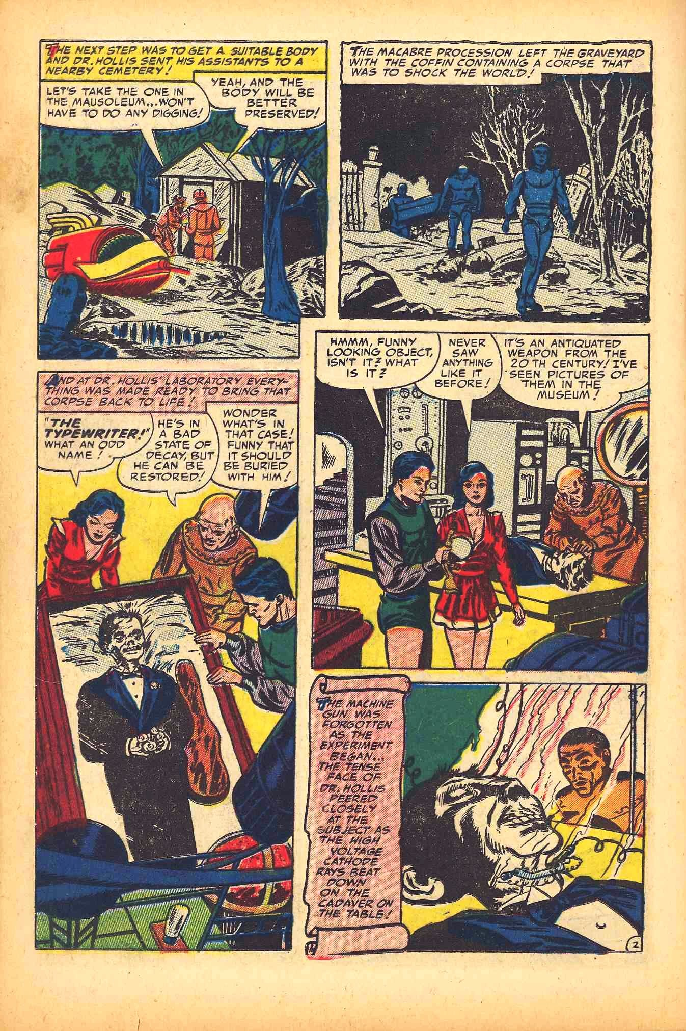 Weird Mysteries (1952) issue 6 - Page 24
