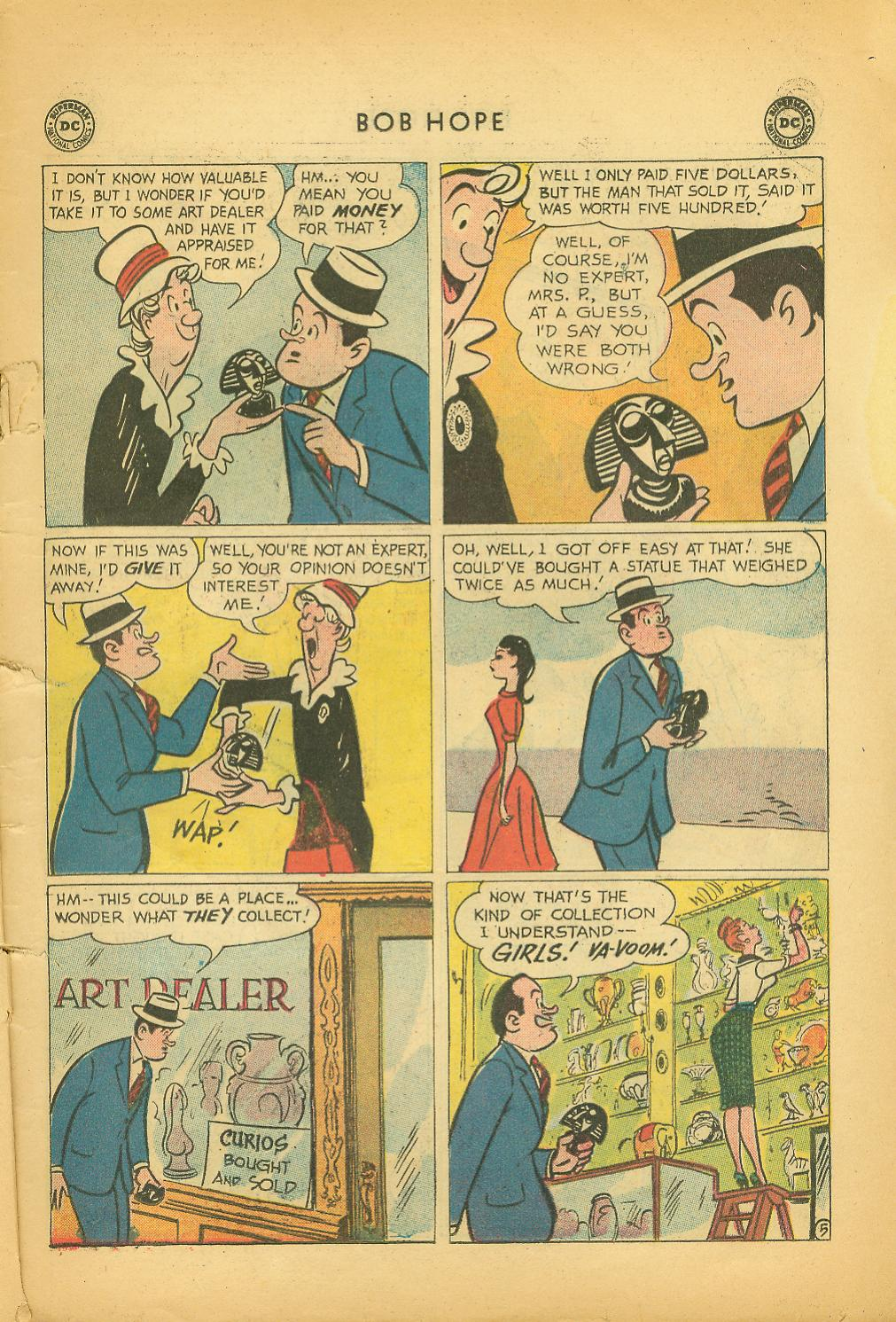 The Adventures of Bob Hope issue 64 - Page 7