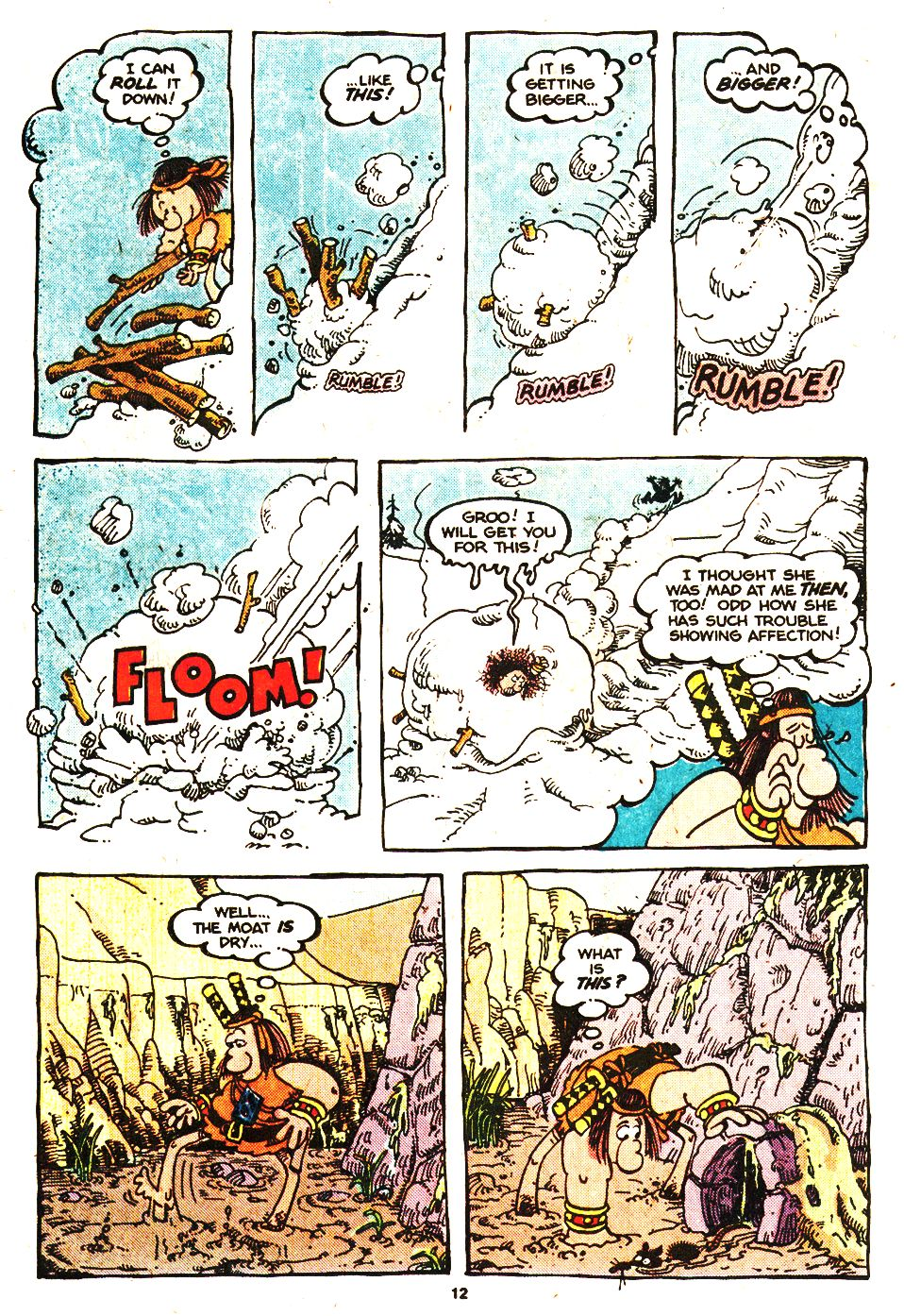 Read online Sergio Aragonés Groo the Wanderer comic -  Issue #20 - 12