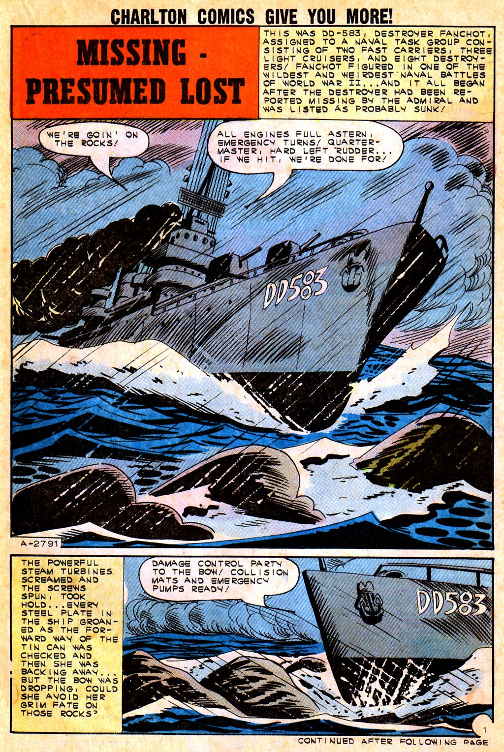 Read online Fightin' Navy comic -  Issue #111 - 21
