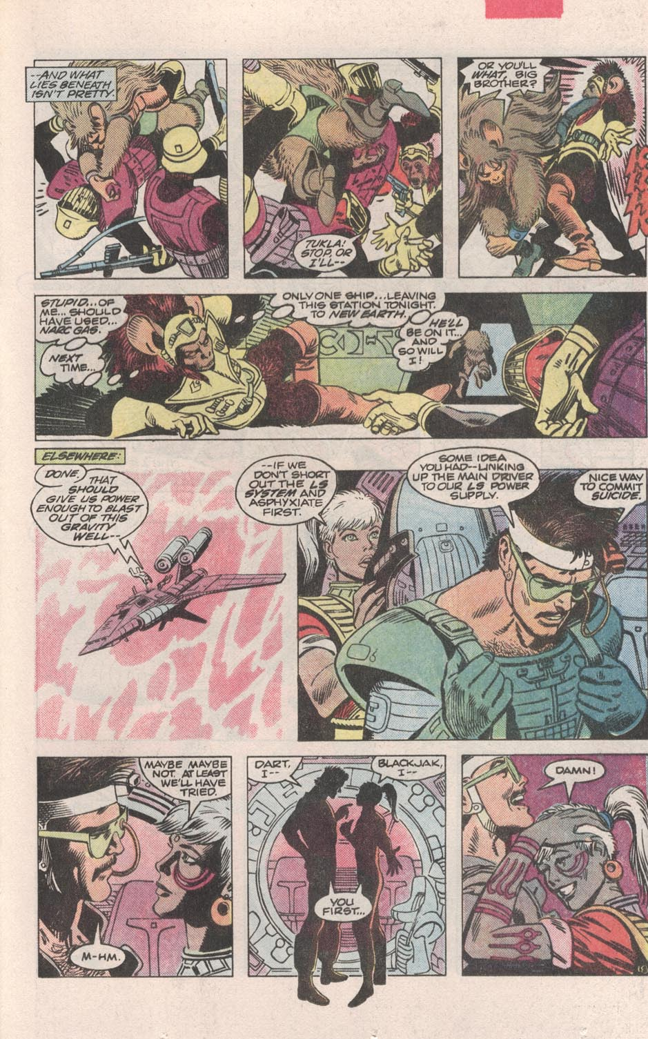 Read online Atari Force (1984) comic -  Issue #3 - 19