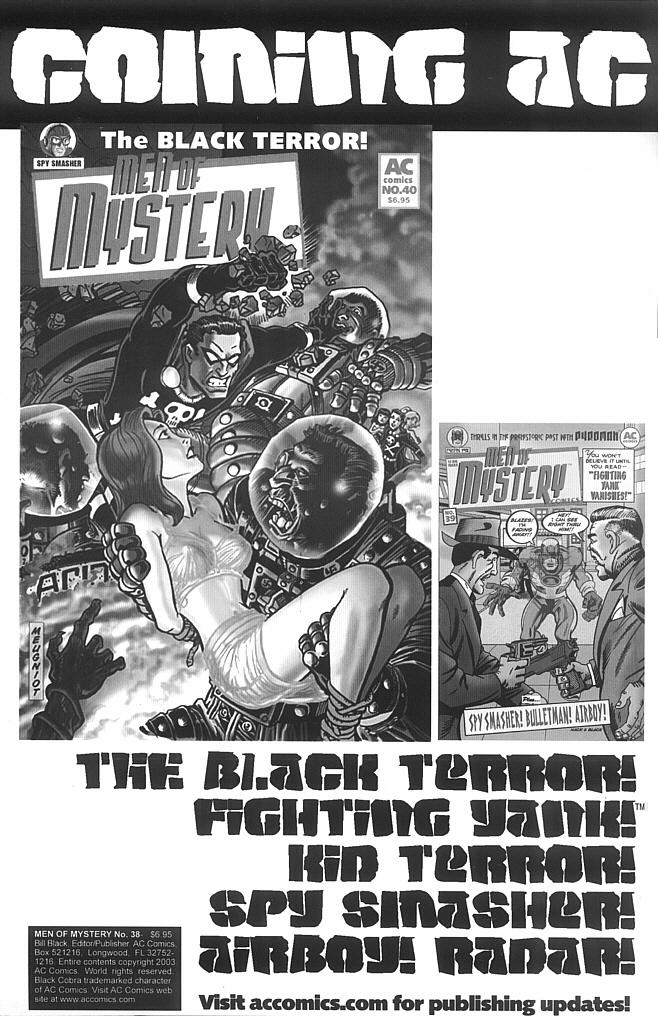 Read online Men of Mystery Comics comic -  Issue #38 - 2