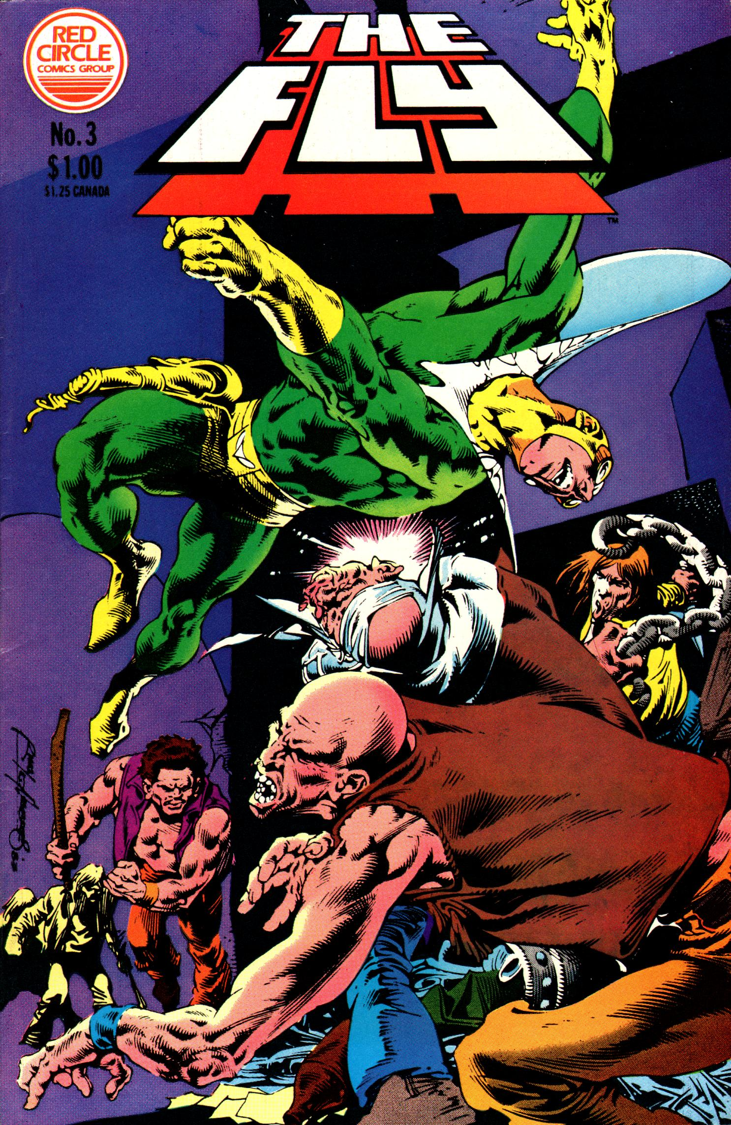 Read online The Fly (1983) comic -  Issue #3 - 1
