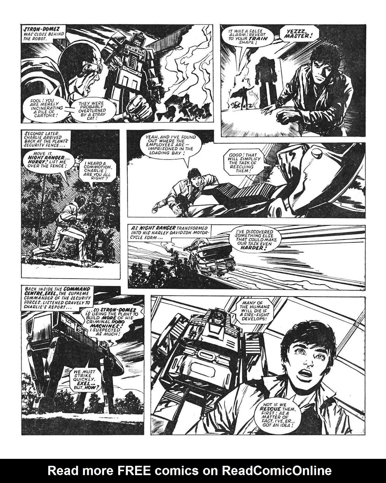 Read online Robo Machines comic -  Issue # TPB - 58