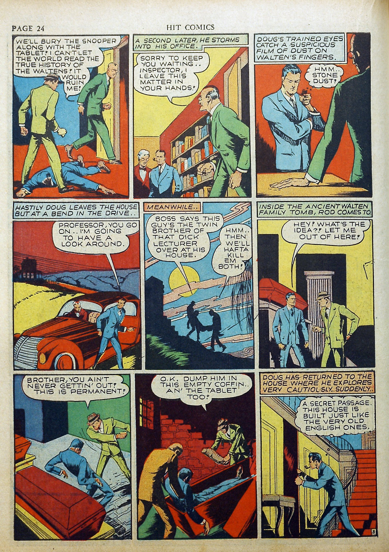 Read online Hit Comics comic -  Issue #17 - 26