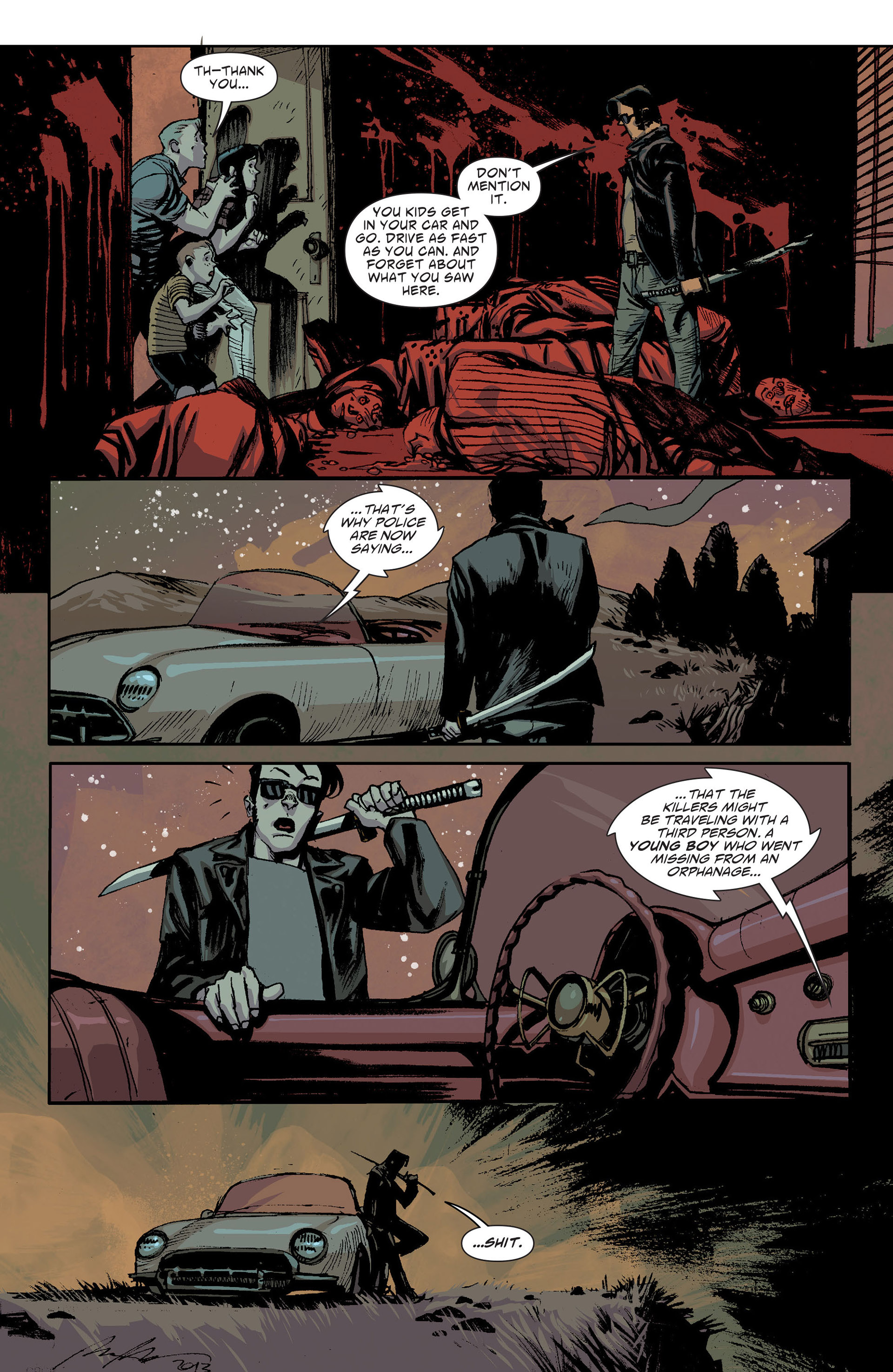 Read online American Vampire: The Long Road To Hell comic -  Issue # Full - 37