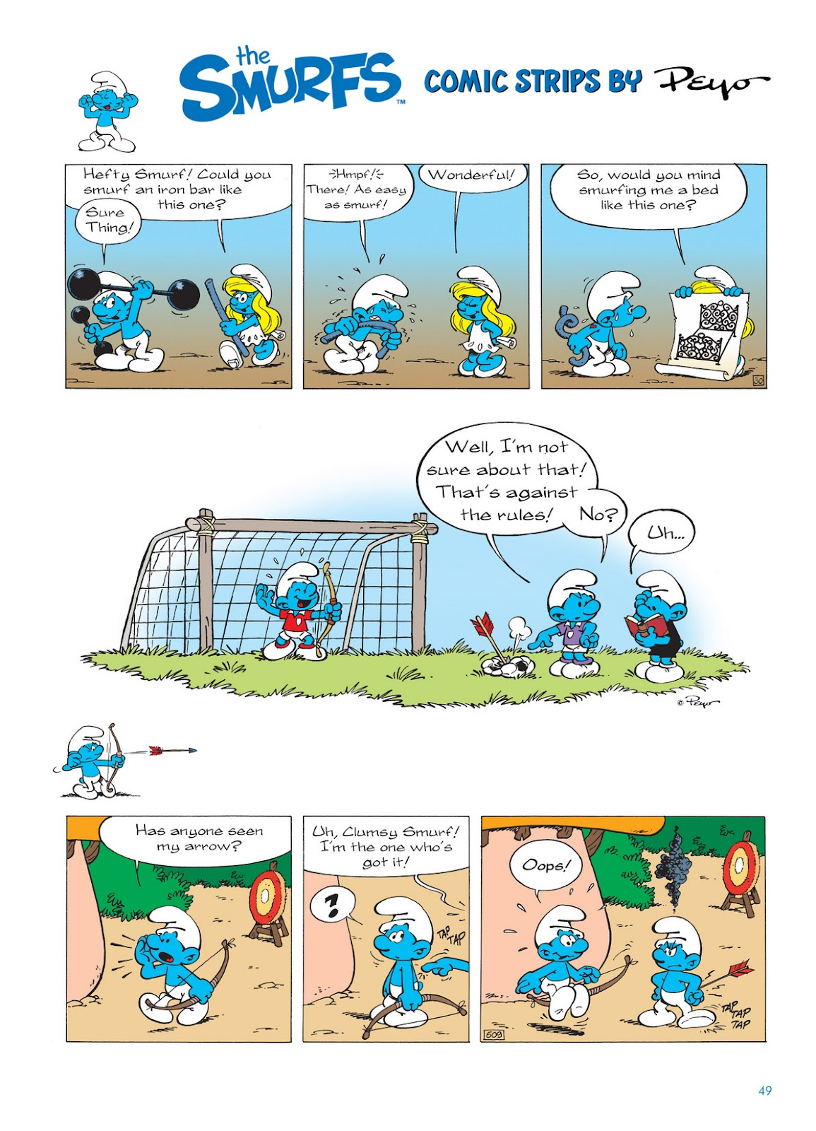 Read online The Smurfs comic -  Issue #11 - 49