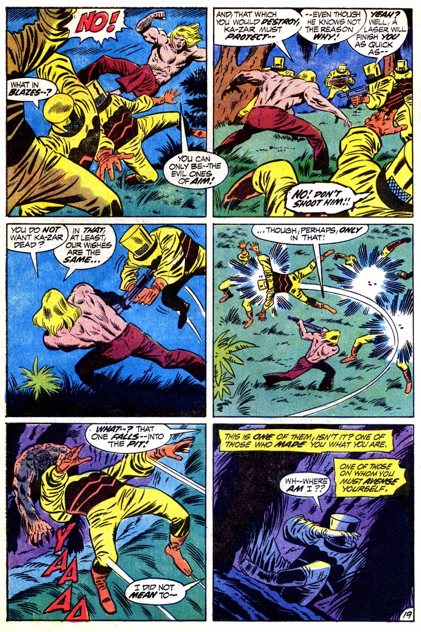 Read online Astonishing Tales (1970) comic -  Issue #12 - 20