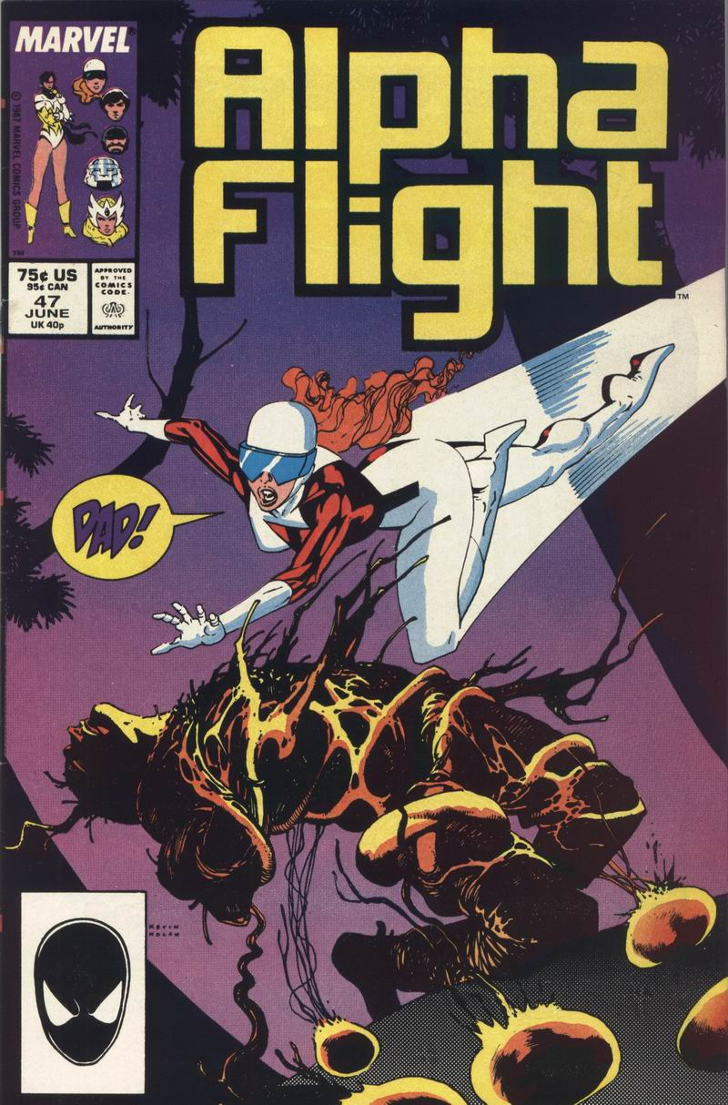 Read online Alpha Flight (1983) comic -  Issue #47 - 1