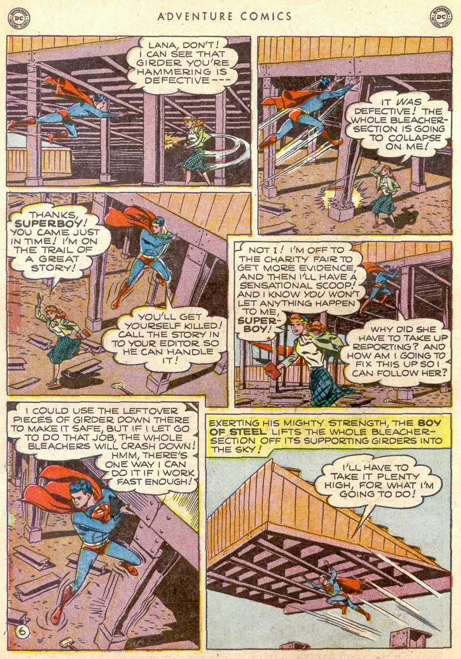 Read online Adventure Comics (1938) comic -  Issue #161 - 8