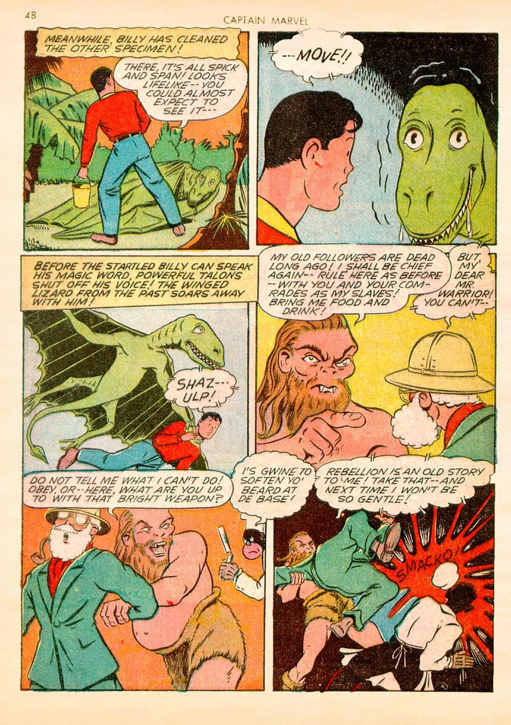 Captain Marvel Adventures issue 10 - Page 48