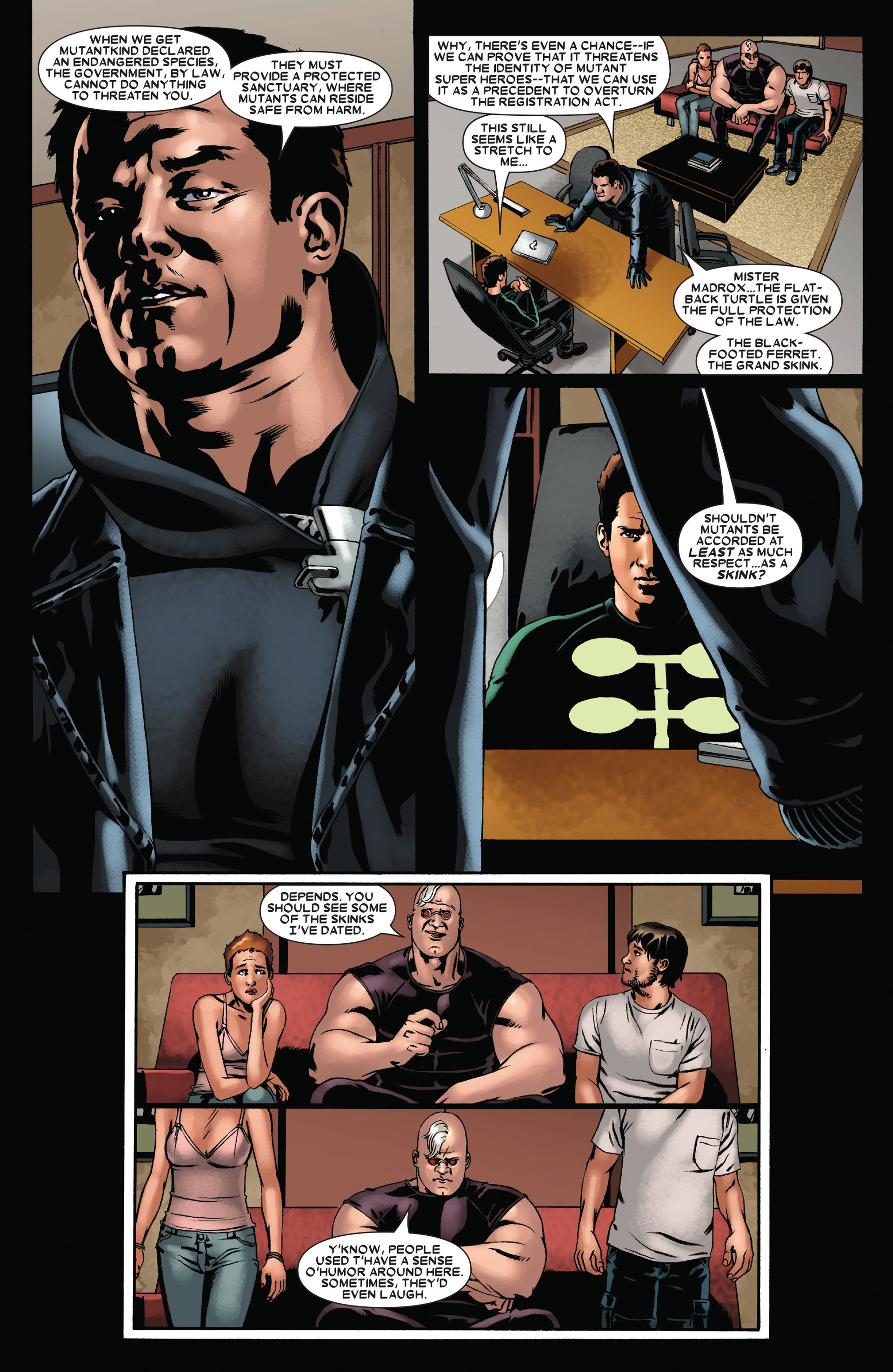Read online X-Factor (2006) comic -  Issue #22 - 18