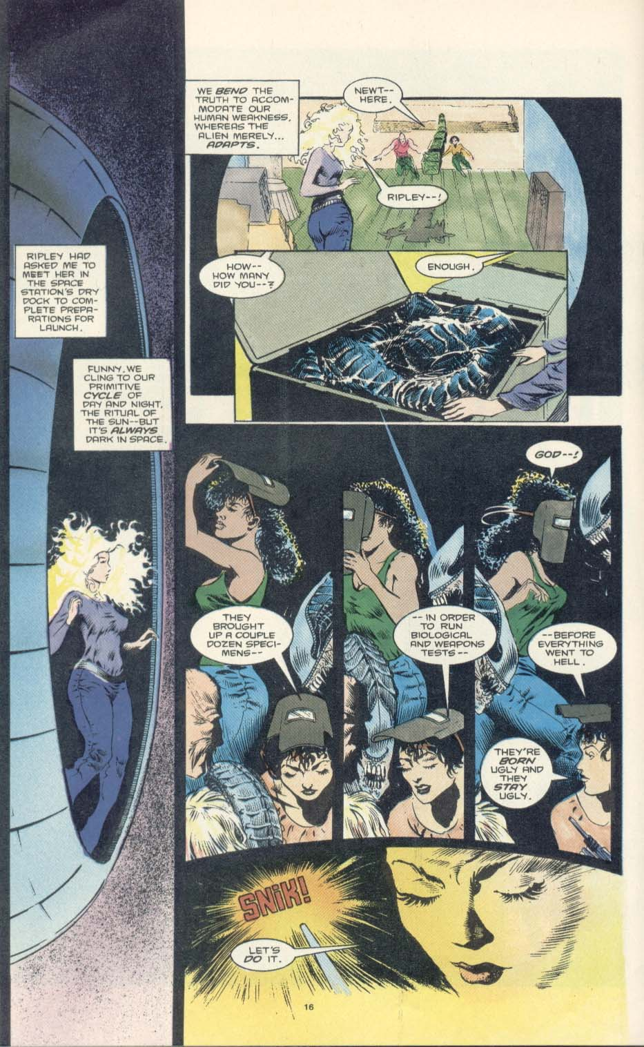 Read online Aliens: Earth War comic -  Issue #2 - 18