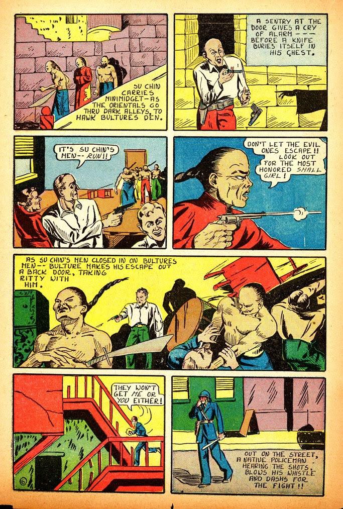 Read online Amazing Man Comics comic -  Issue #12 - 24