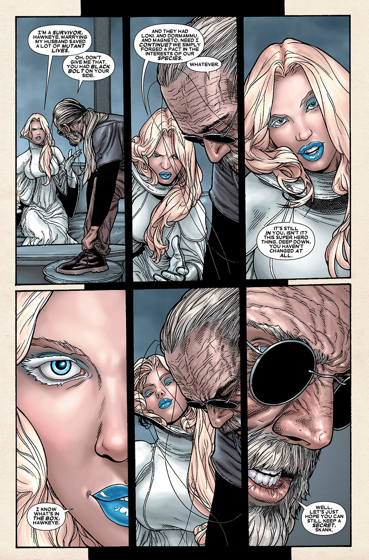 Read online Wolverine: Old Man Logan comic -  Issue # Full - 124