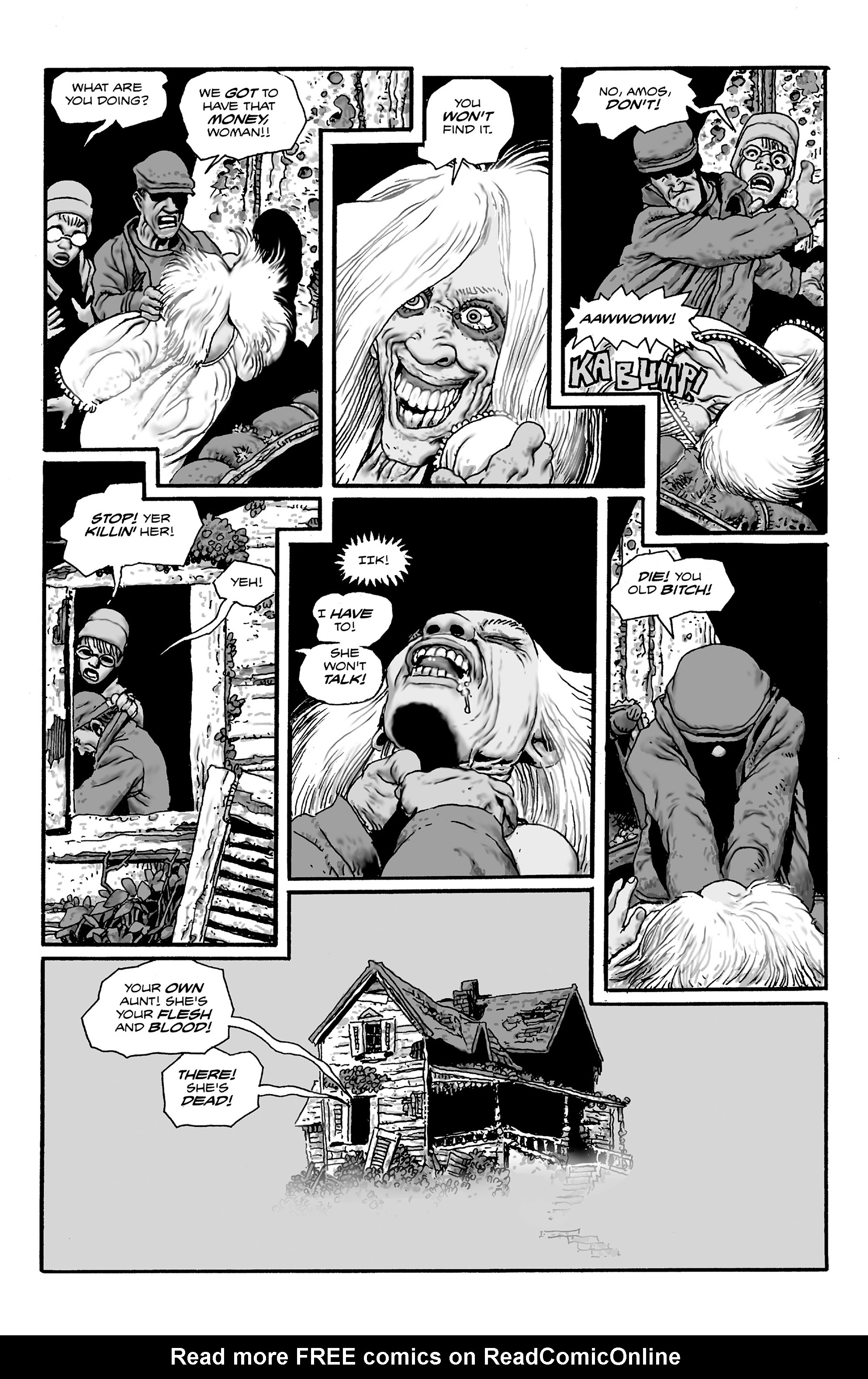 Read online Shadows on the Grave comic -  Issue #2 - 6