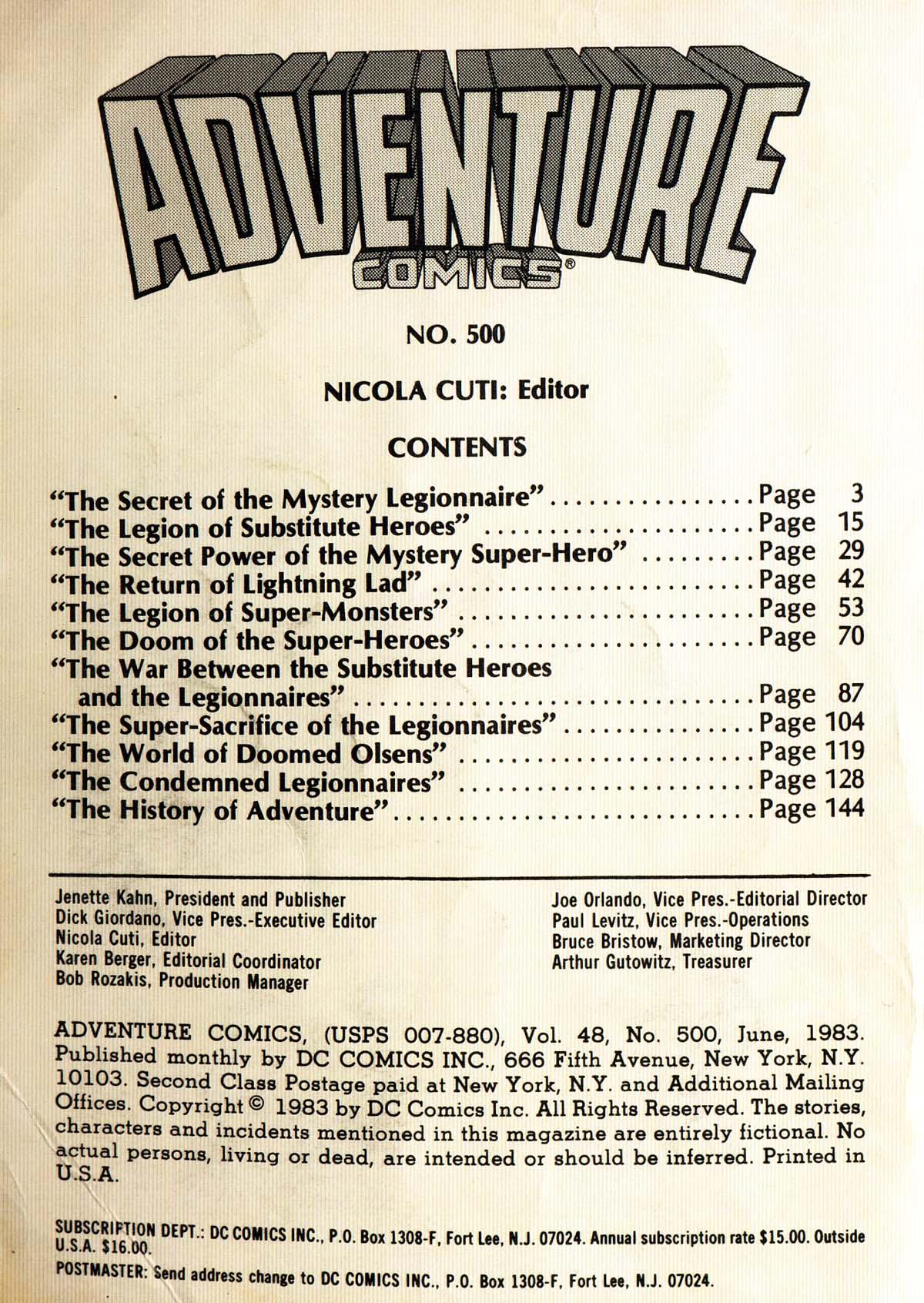 Read online Adventure Comics (1938) comic -  Issue #500 - 2