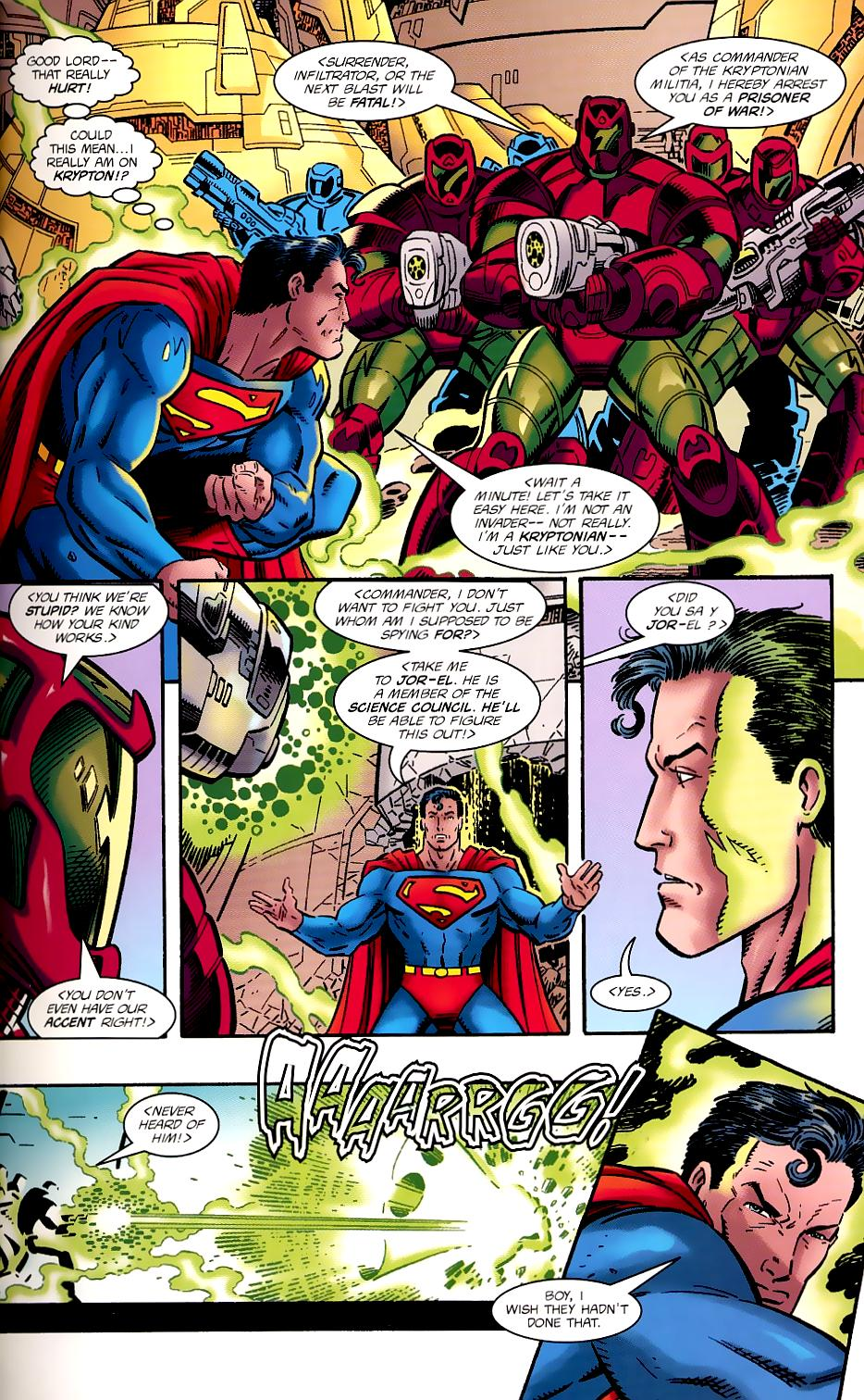 Read online Silver Surfer/Superman comic -  Issue # Full - 9