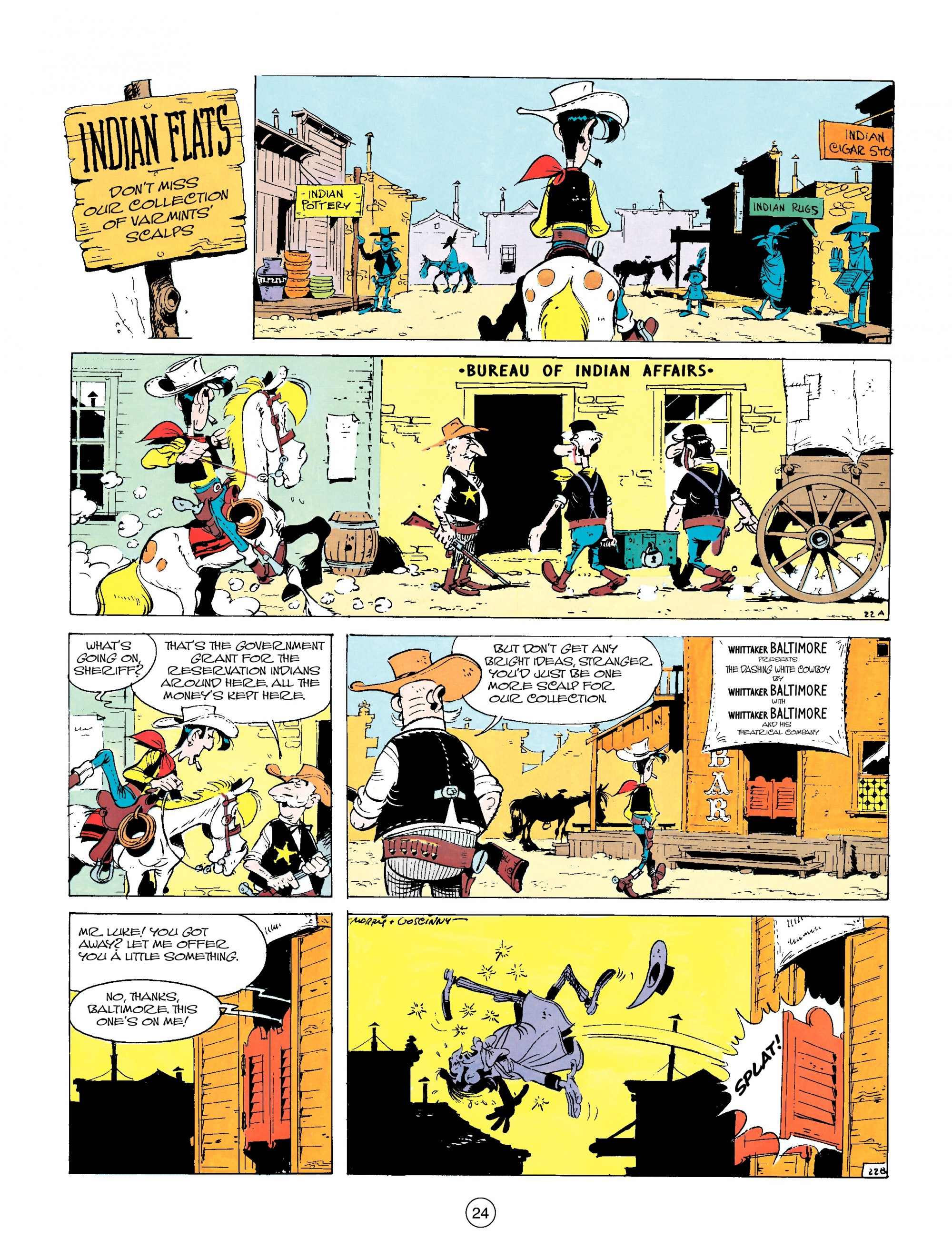 Read online A Lucky Luke Adventure comic -  Issue #14 - 24