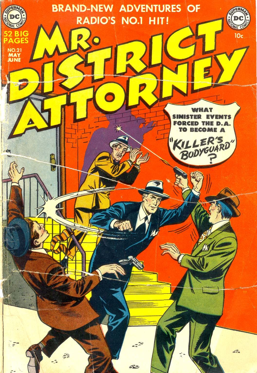 Mr. District Attorney issue 21 - Page 1