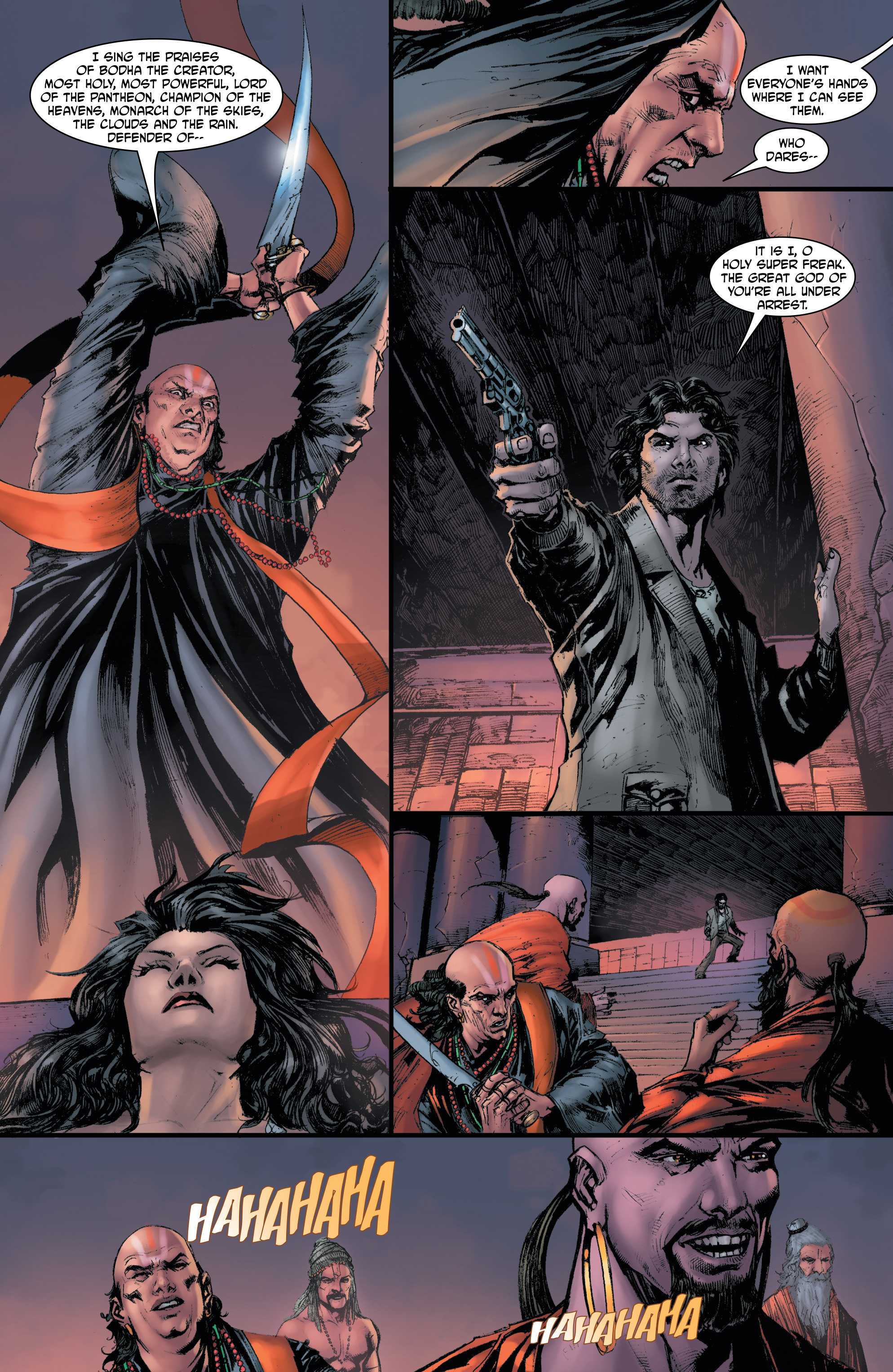 Read online Shekhar Kapur's Devi: Rebirth comic -  Issue #5 - 8