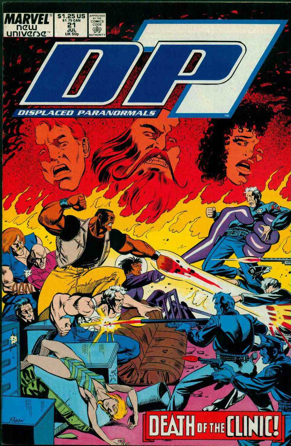 Read online DP7 comic -  Issue #21 - 1