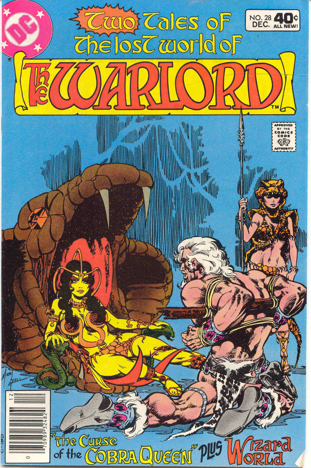 Warlord (1976) 28 Page 1