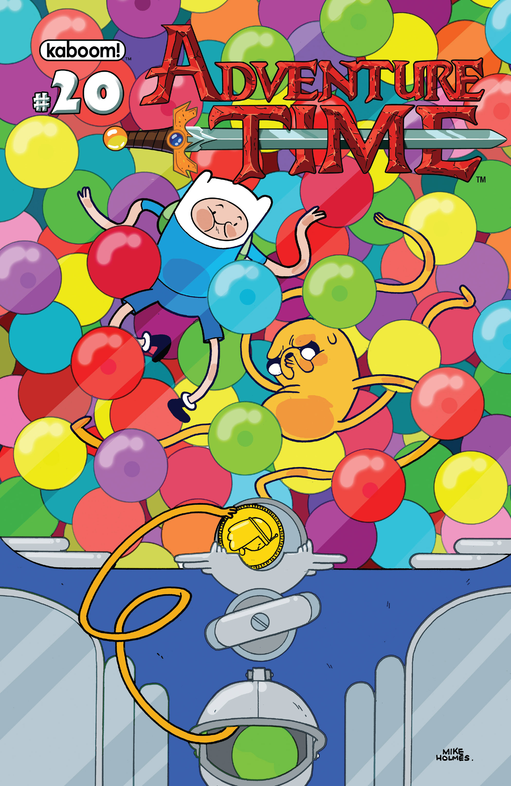 Read online Adventure Time comic -  Issue #20 - 1