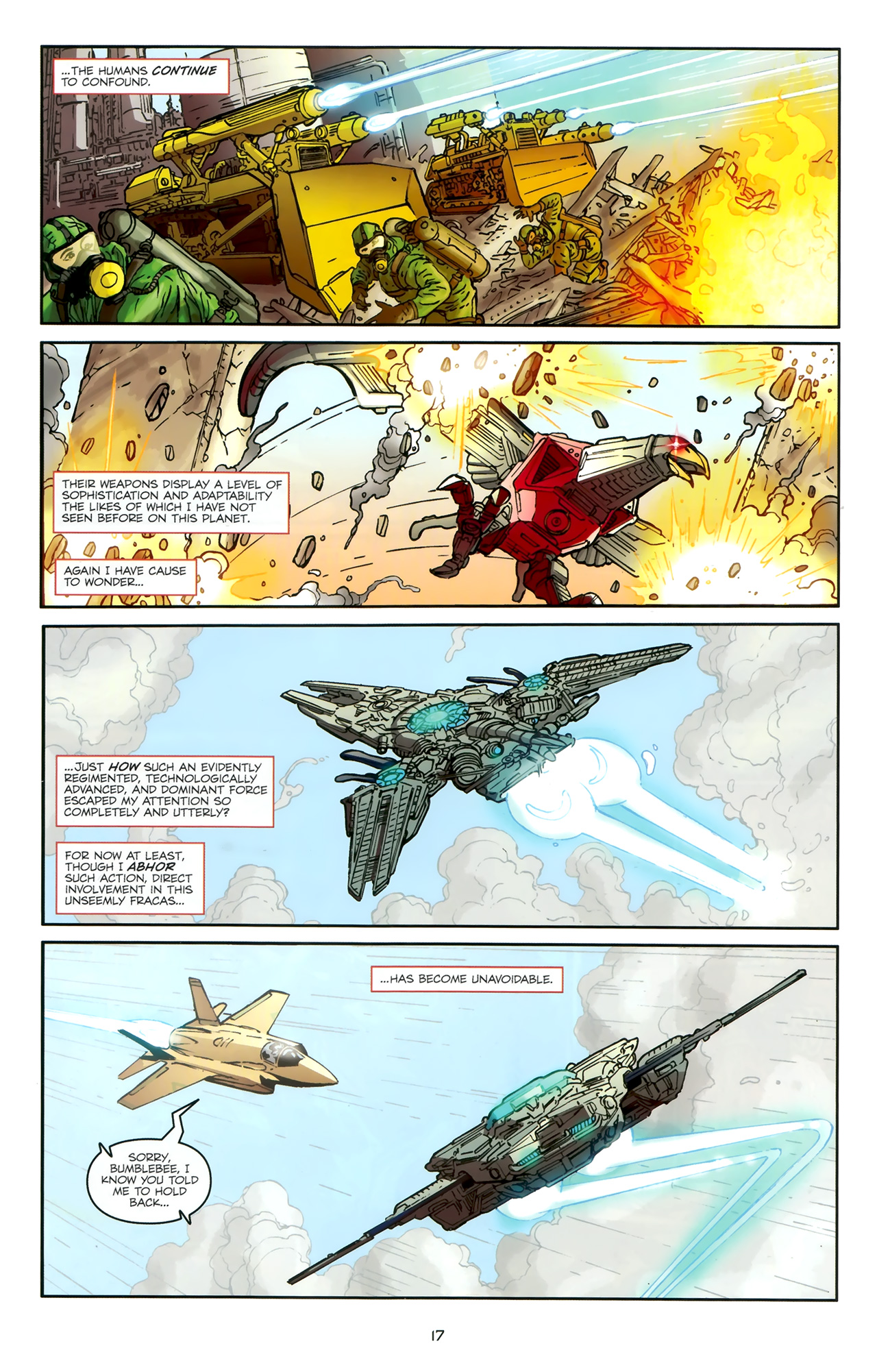 Read online Transformers: Nefarious comic -  Issue #1 - 21