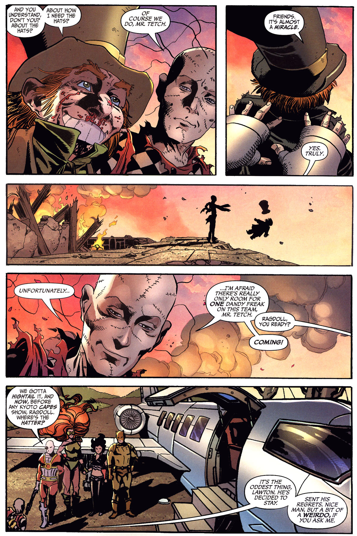 Read online Secret Six (2006) comic -  Issue #6 - 21